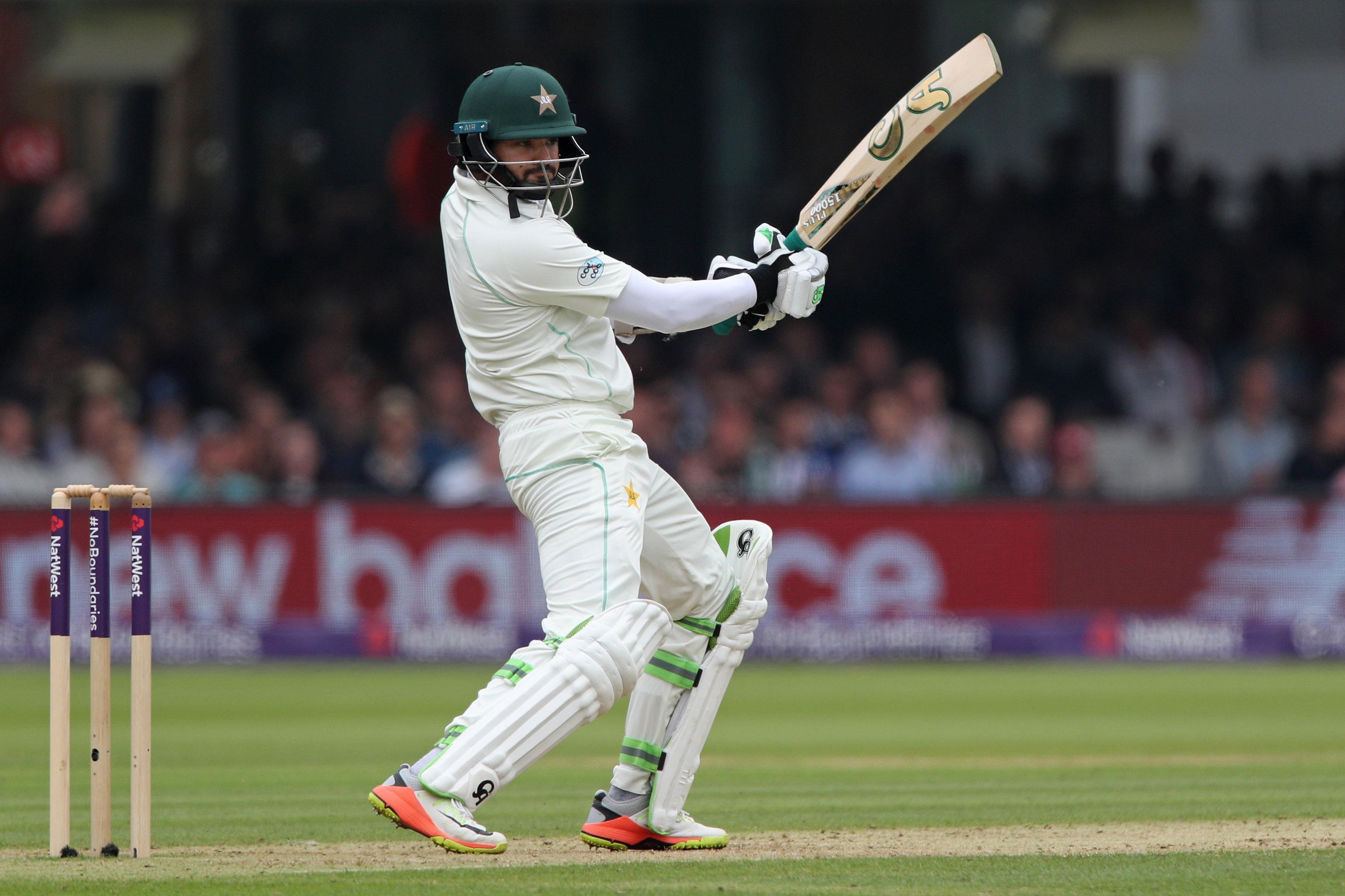 Azhar Ali's half-century helped Pakistan surpass England's 184 total