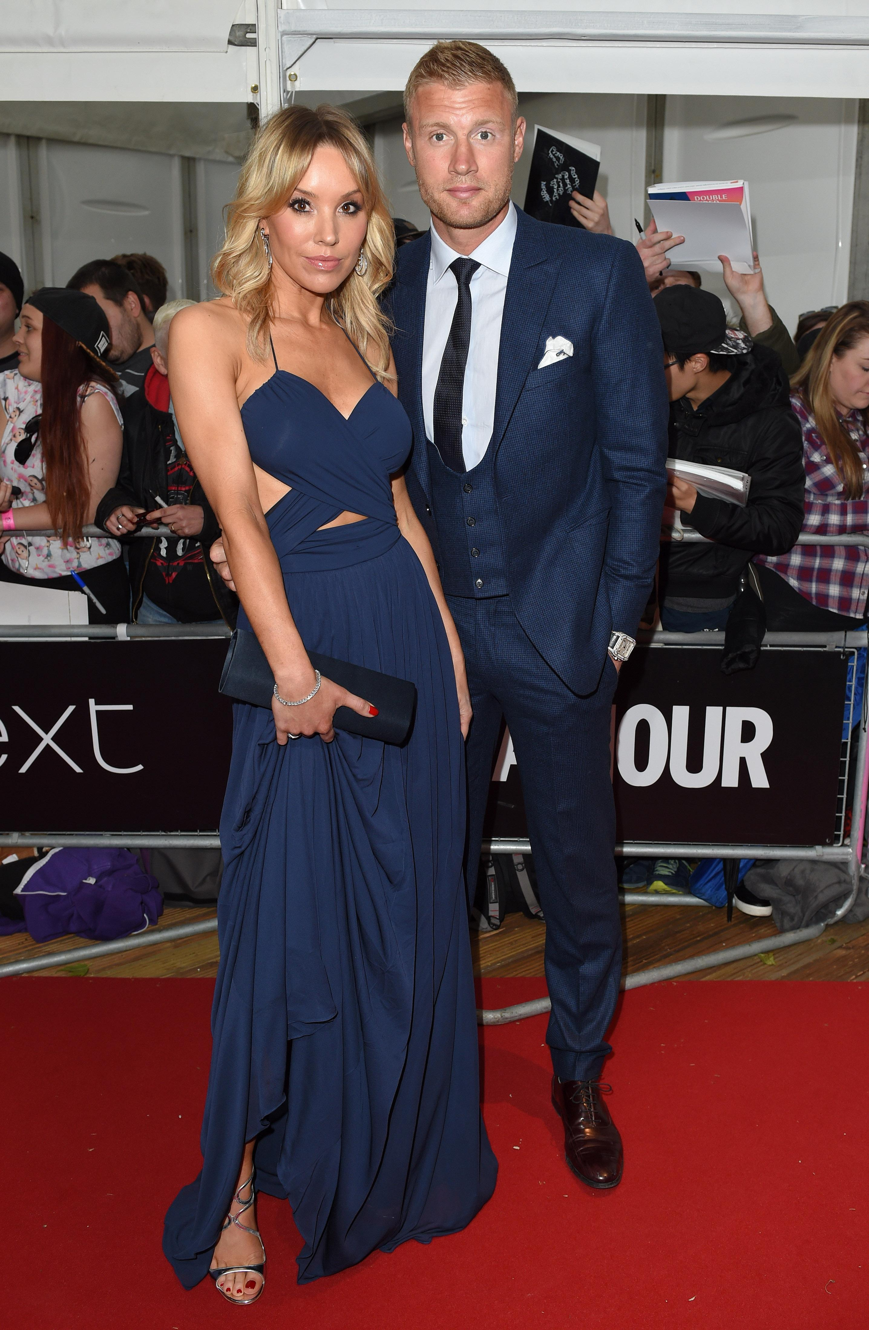Who is Freddie Flintoff's wife Rachael Wools and do they have children?