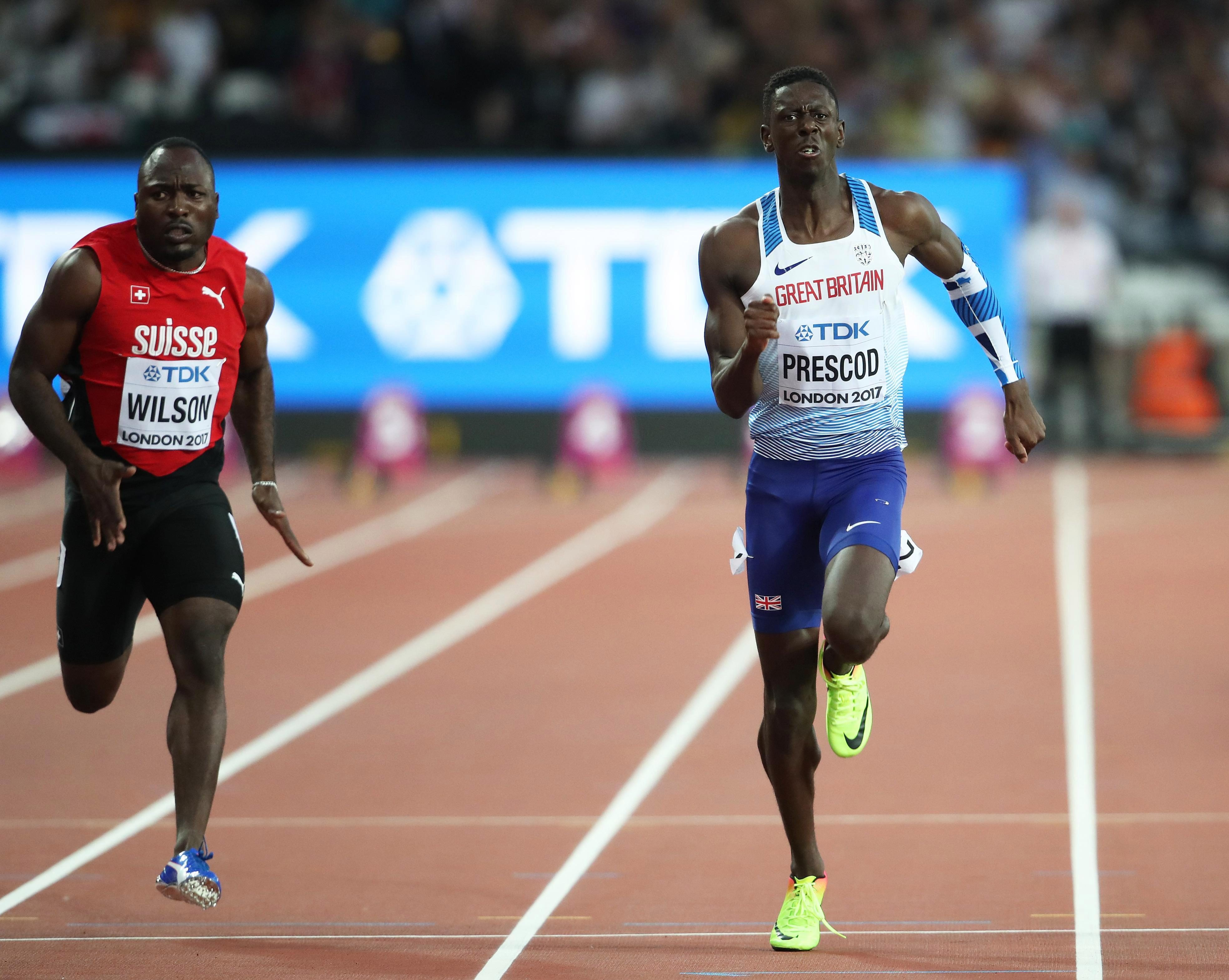 Reece Prescod is another British sprinter to watch in the future