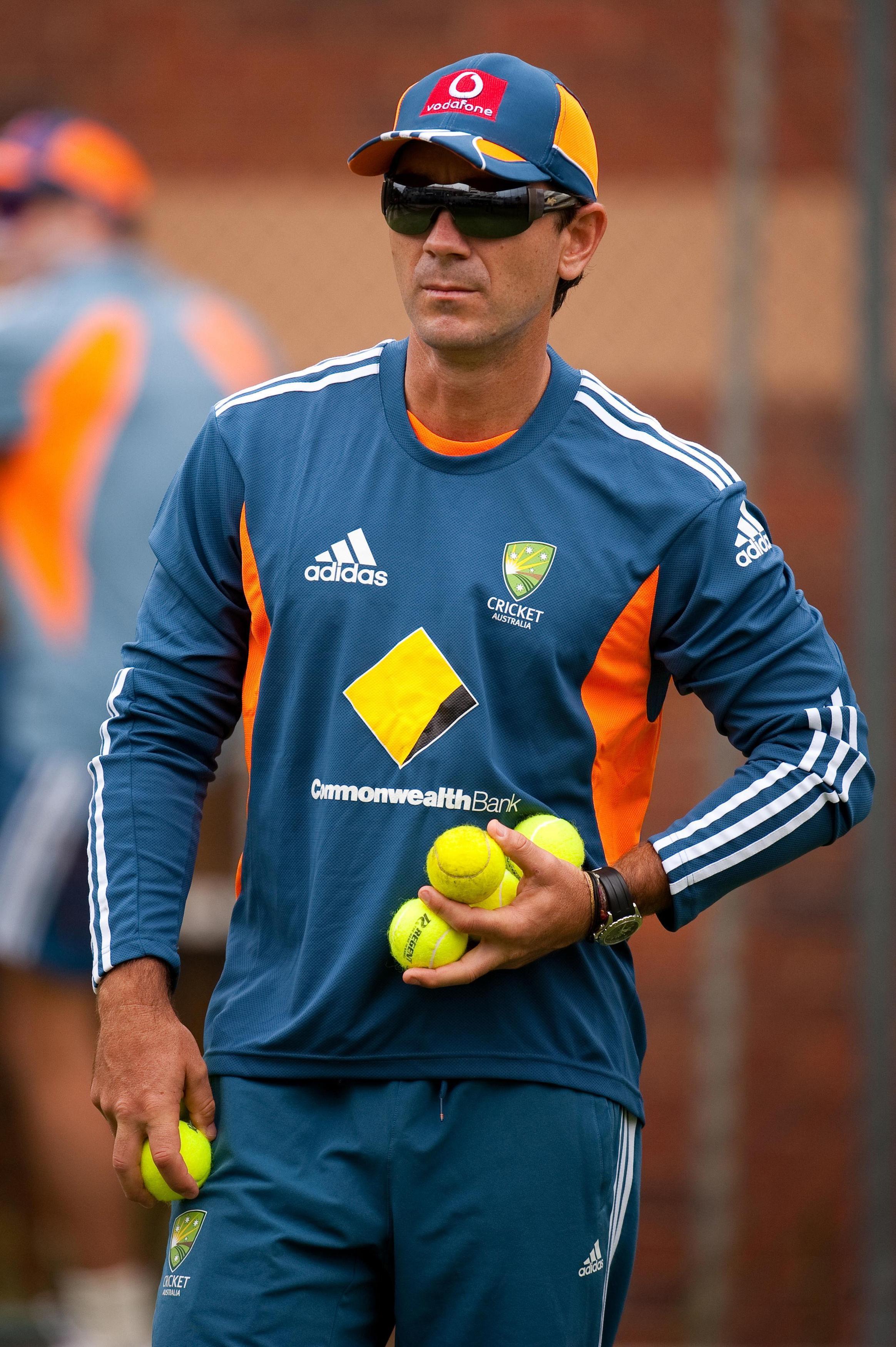 Justin Langer has replaced Darren Lehmann as Australia's head coach