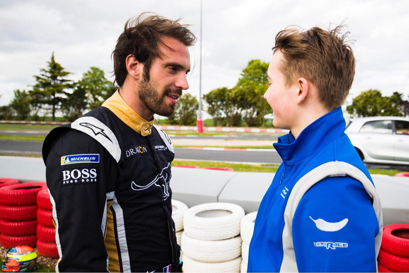 Formula E championship leader Jean-Eric Vergne can win the title on the Saturday