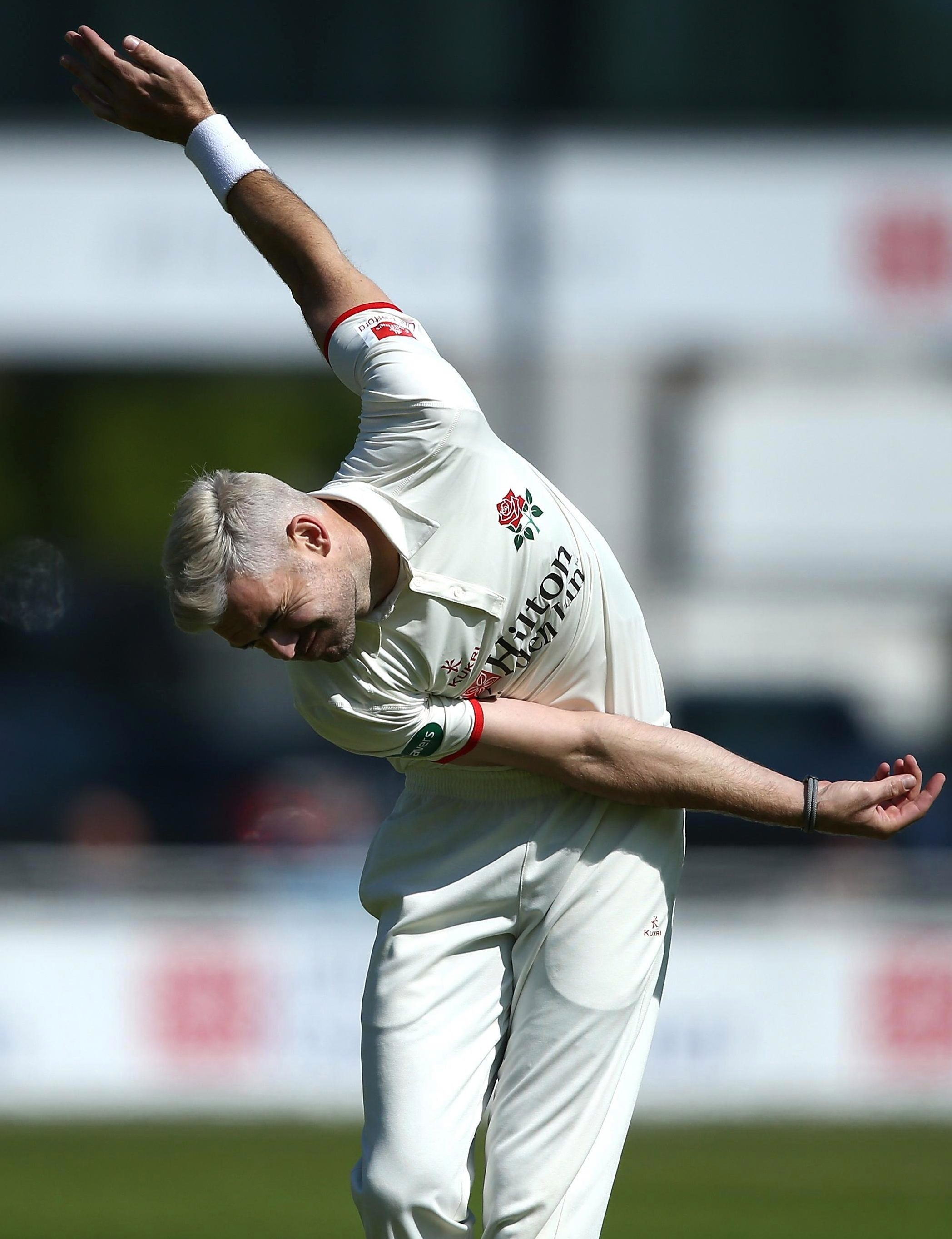 The England seamer is back to his natural best