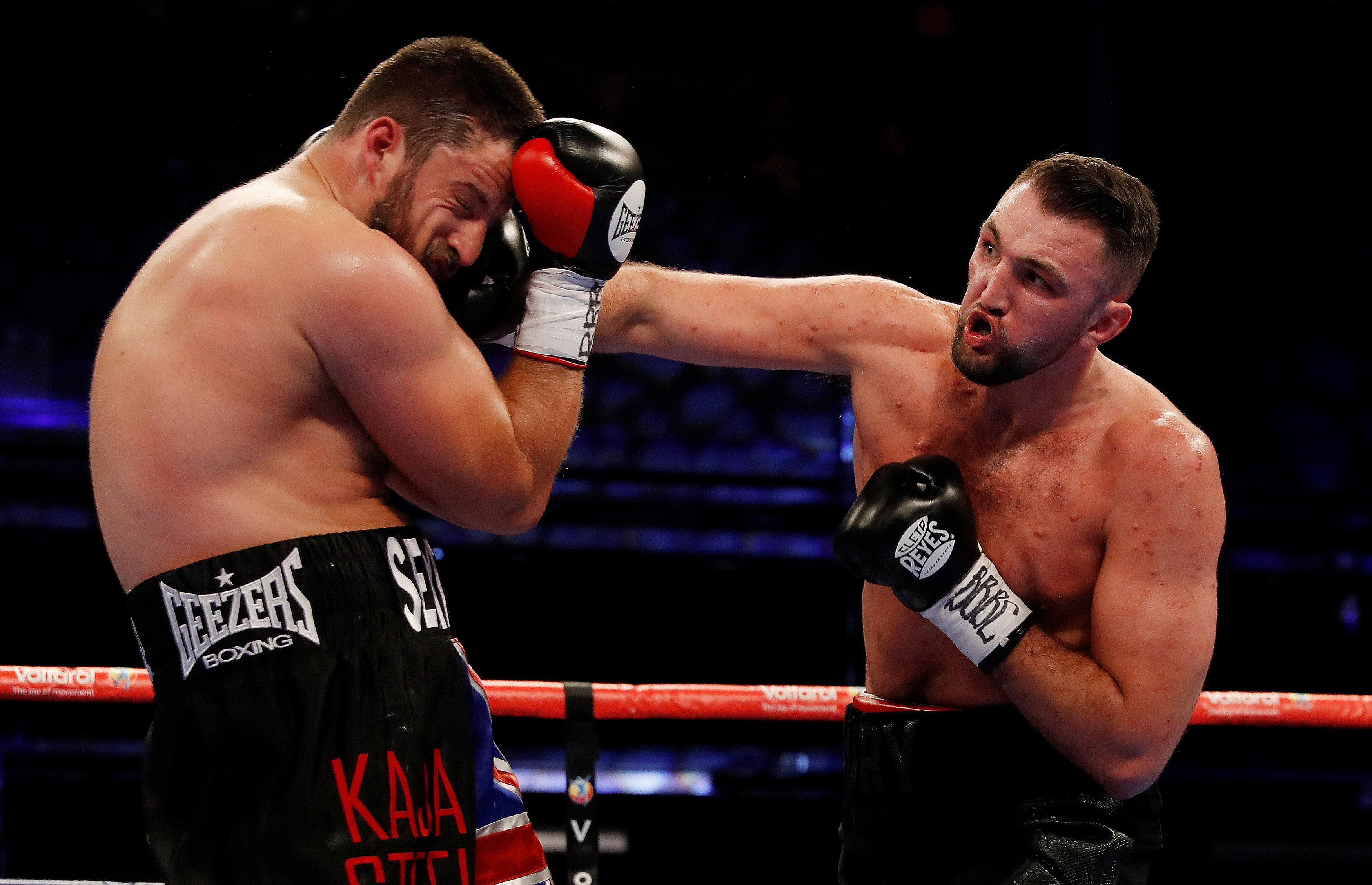 Hughie Fury proved to be a class above Sam Sexton as he knocked him out