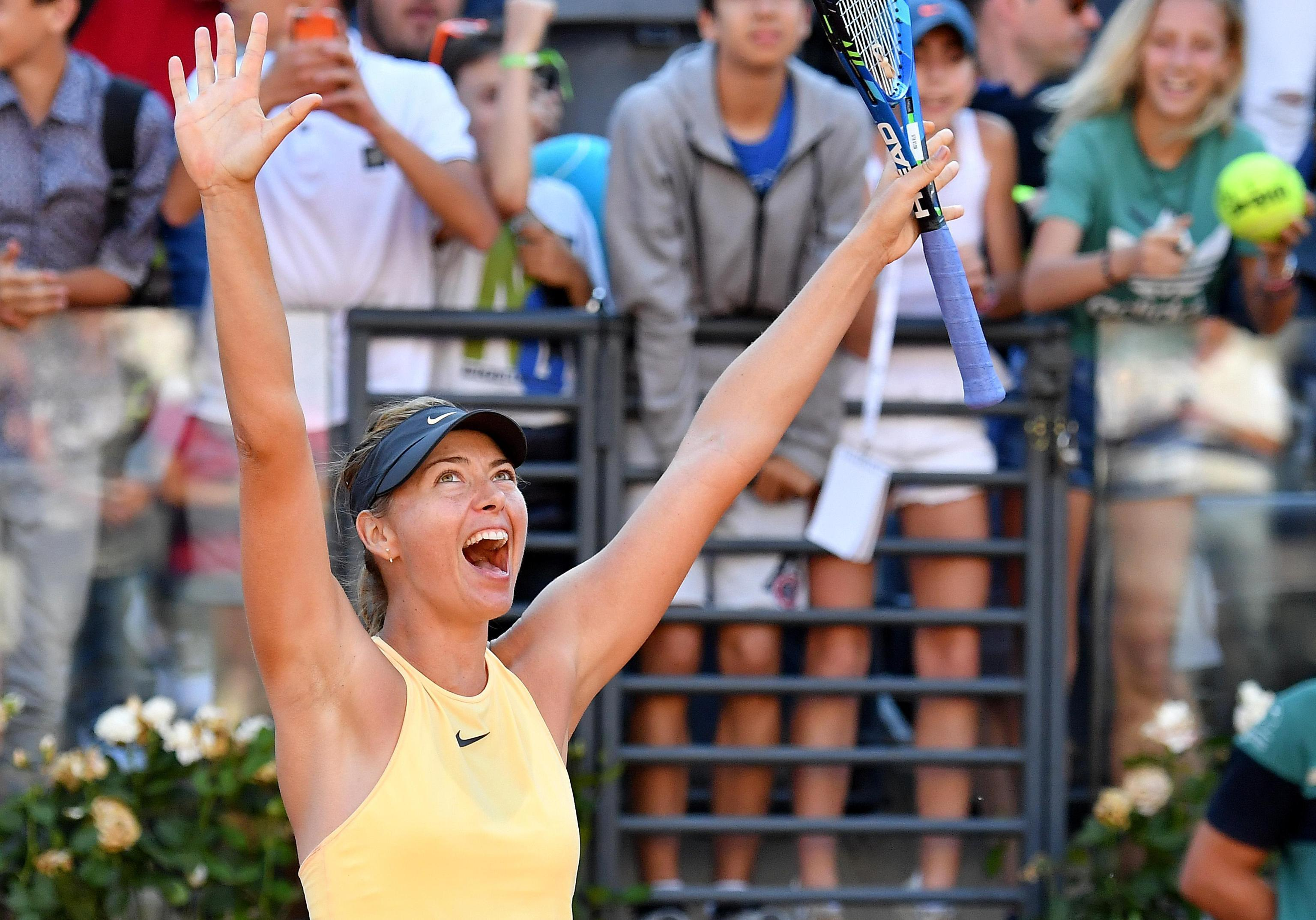 Maria Sharapova wants to see a rule change over tennis seedings