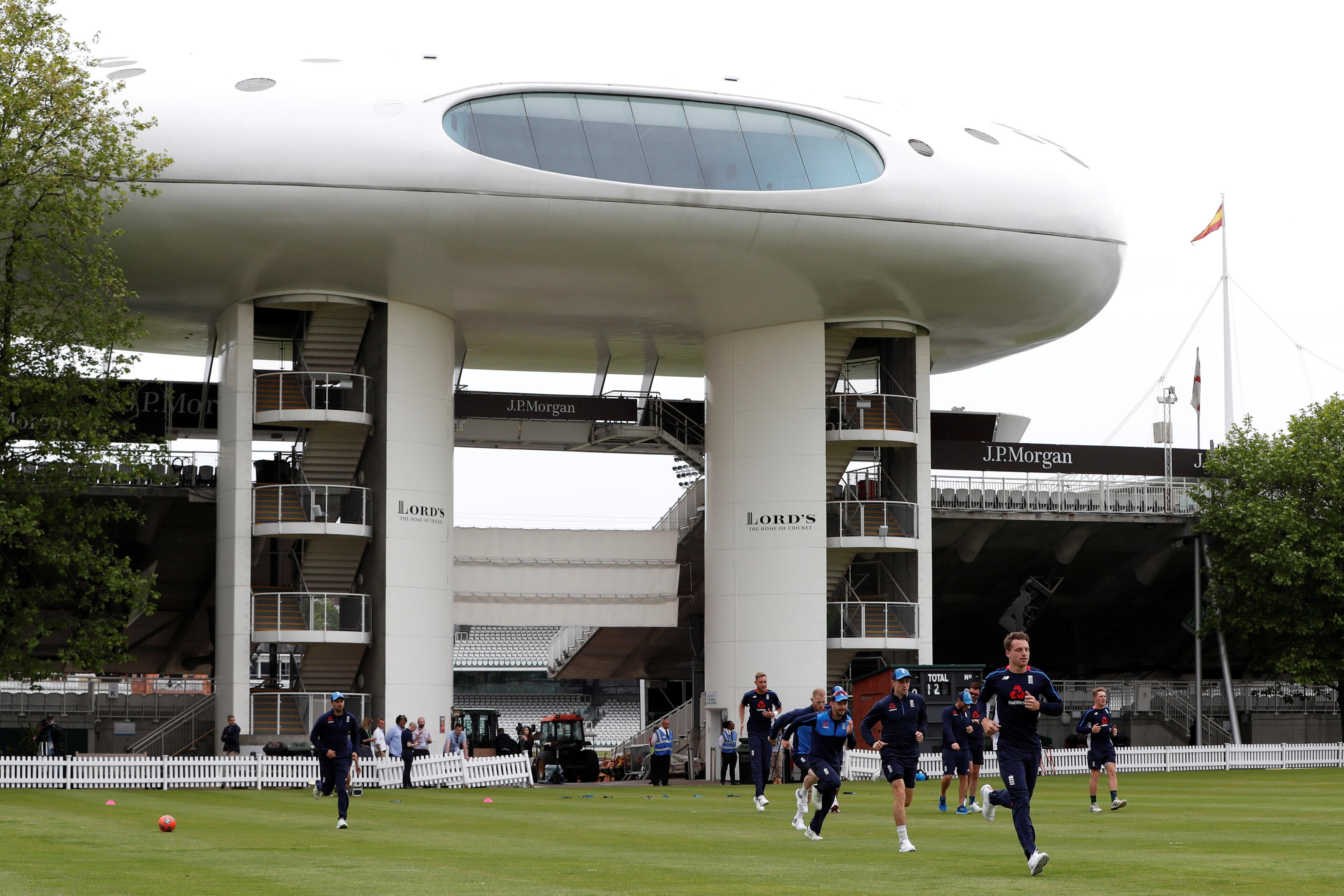England prepare for the first Test of the summer against Pakistan at Lord's