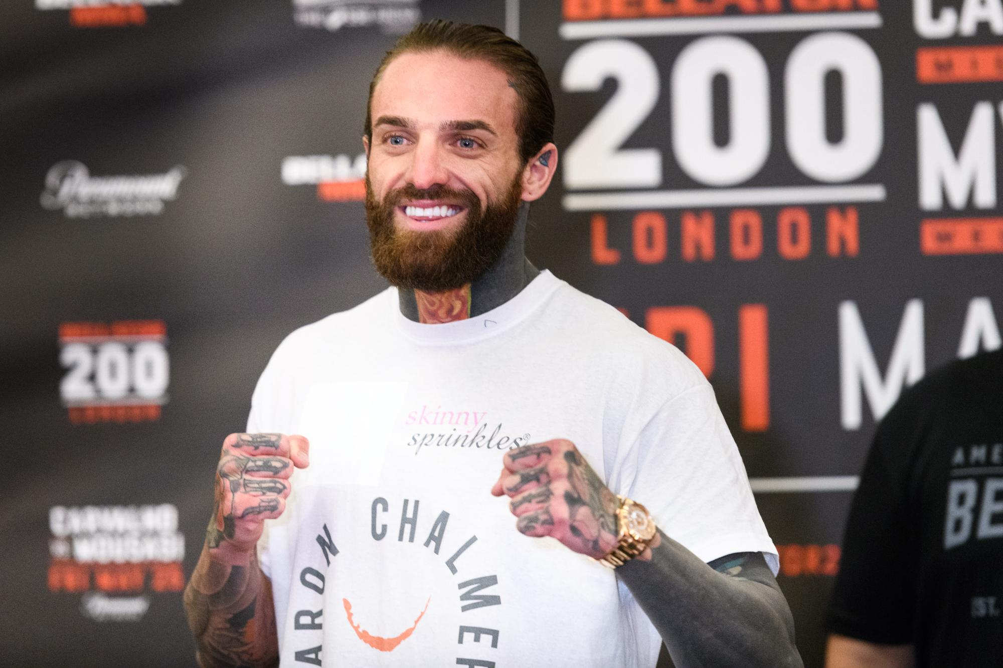 Aaron Chalmers is bound to have some of his former Geordie Shore mates rocking up to the capital this weekend