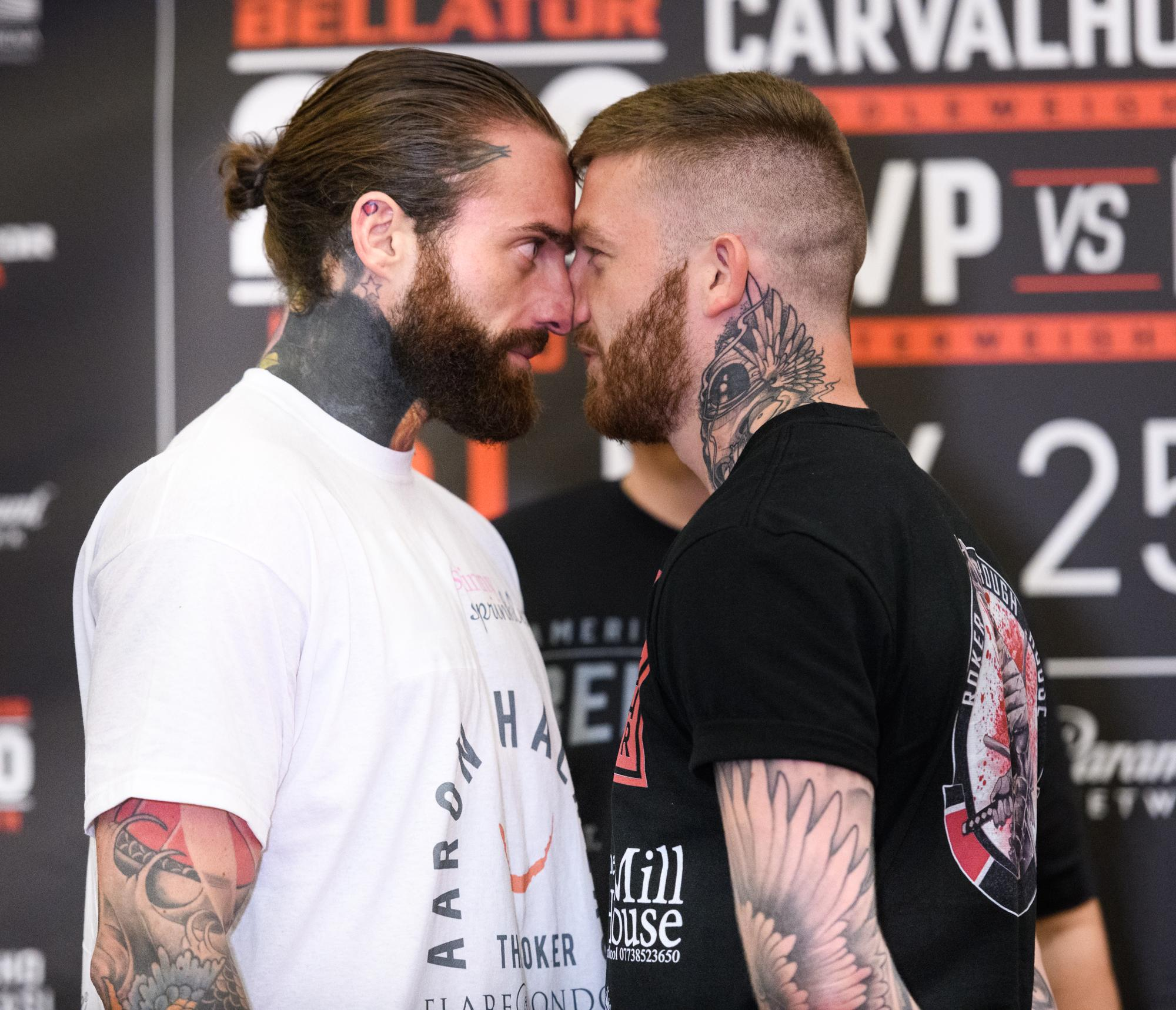 Aaron Chalmers is undefeated in MMA after he decided to give up reality TV