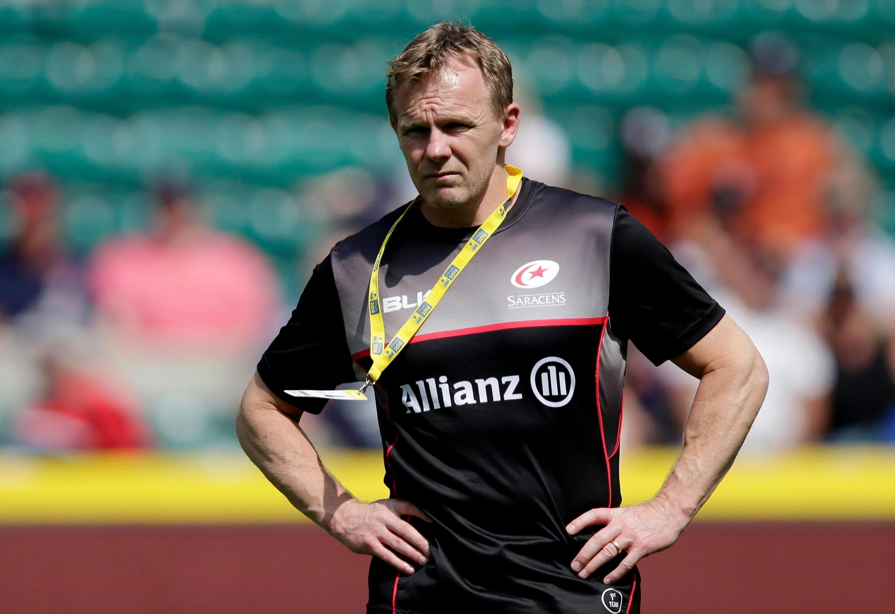 Sarries boss Mark McCall knows he has a real talent on his hands