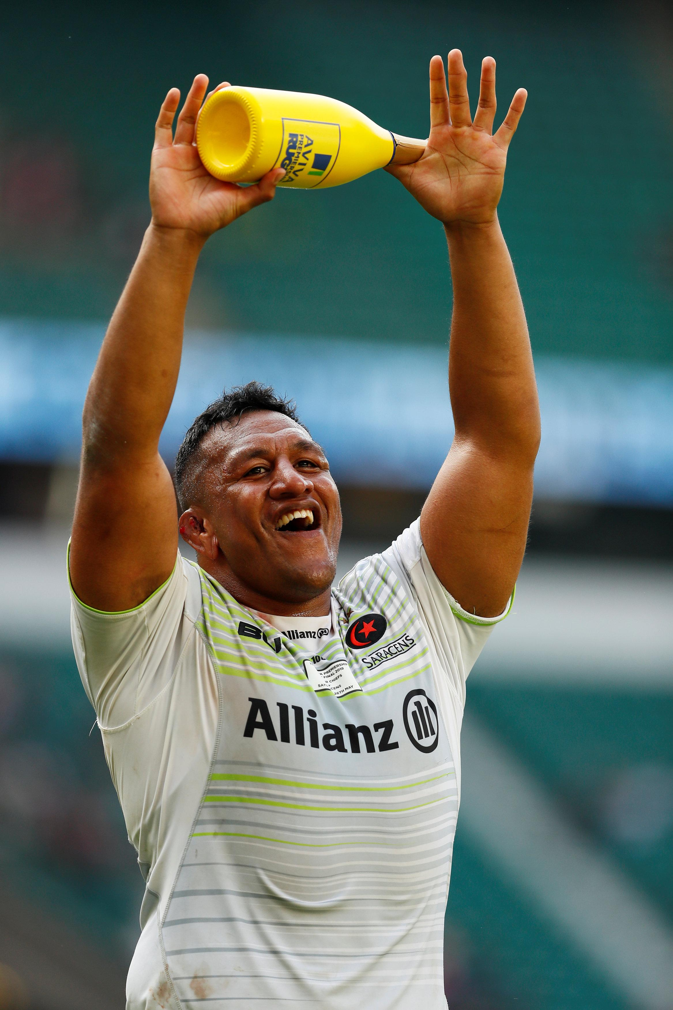 Mako Vunipola starred as Sarries stormed to the Premiership title
