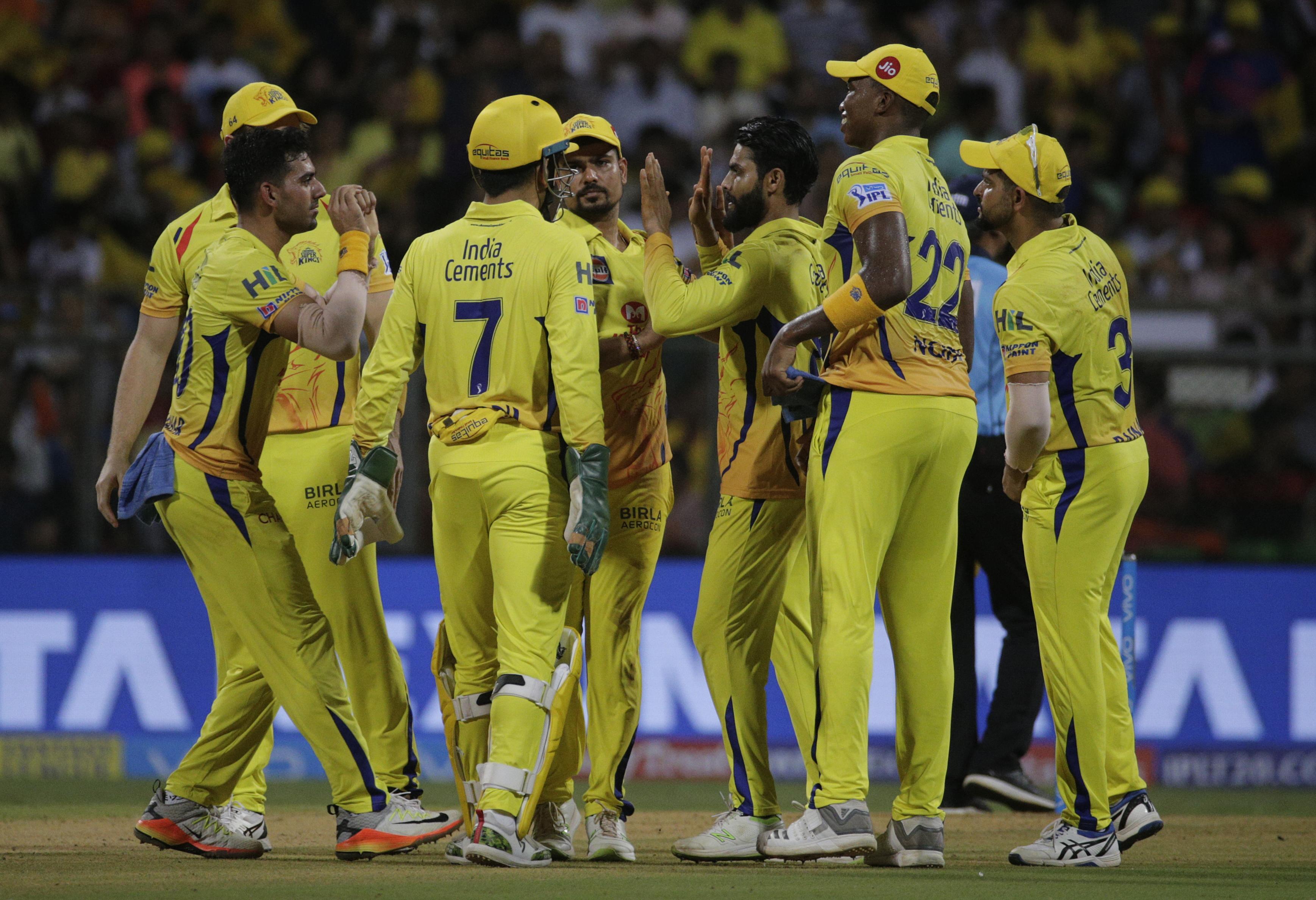 CSK clinched their third IPL title - their first triumph since 2011