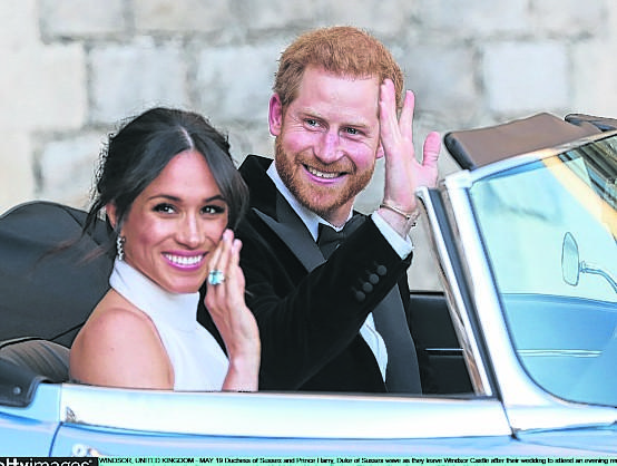 Prince Harry and Meghan Markle are returning their £7million of free wedding gifts