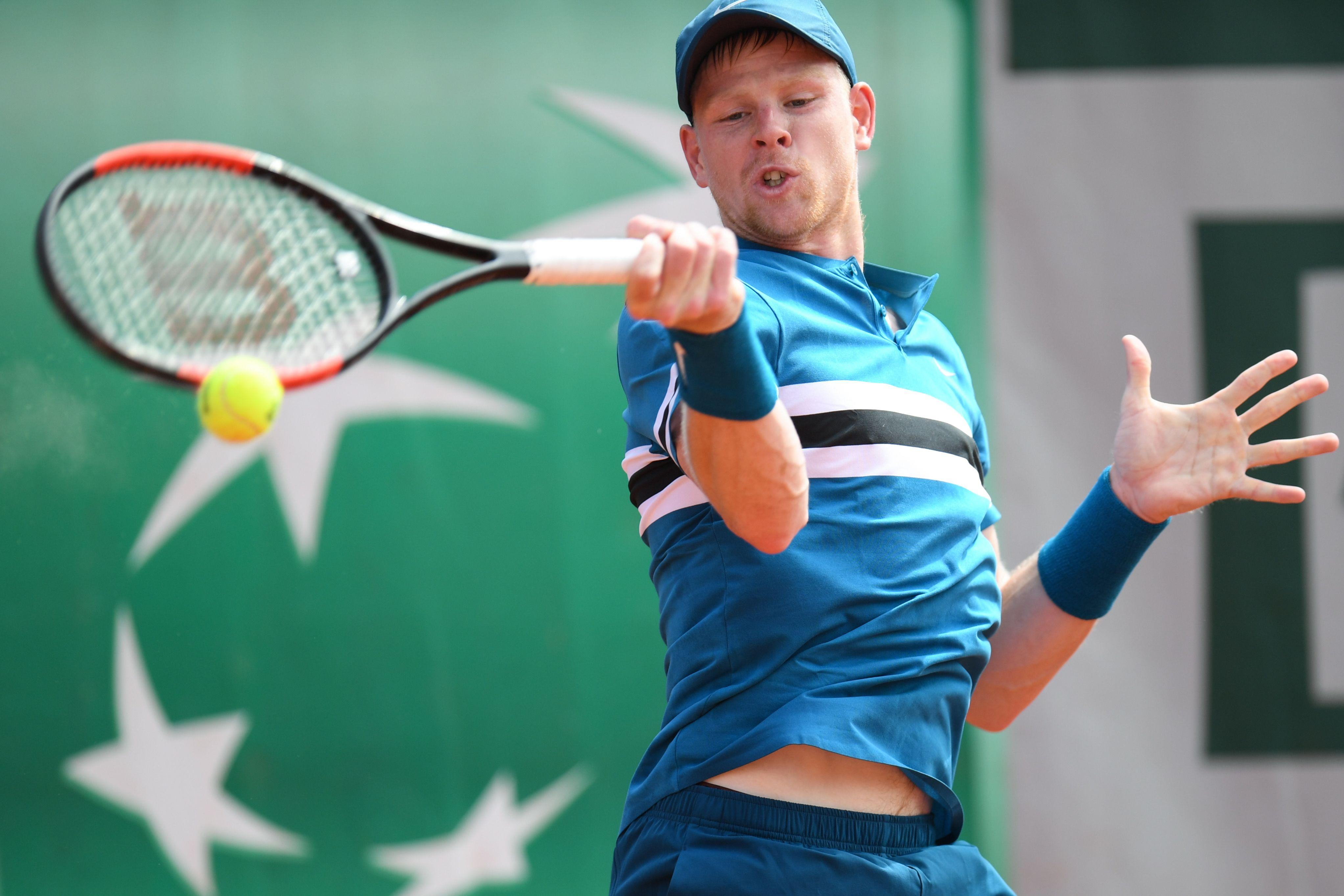 French Open 16th seed Kyle Edmund overpowered his Oz rival despite some second-set blips on his serve