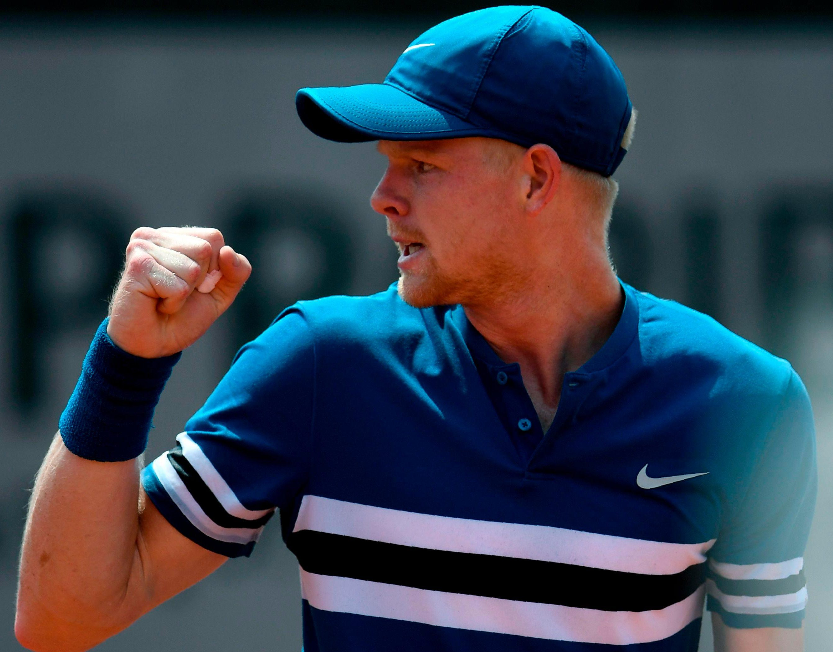 Kyle Edmund is through to the third round of the French Open