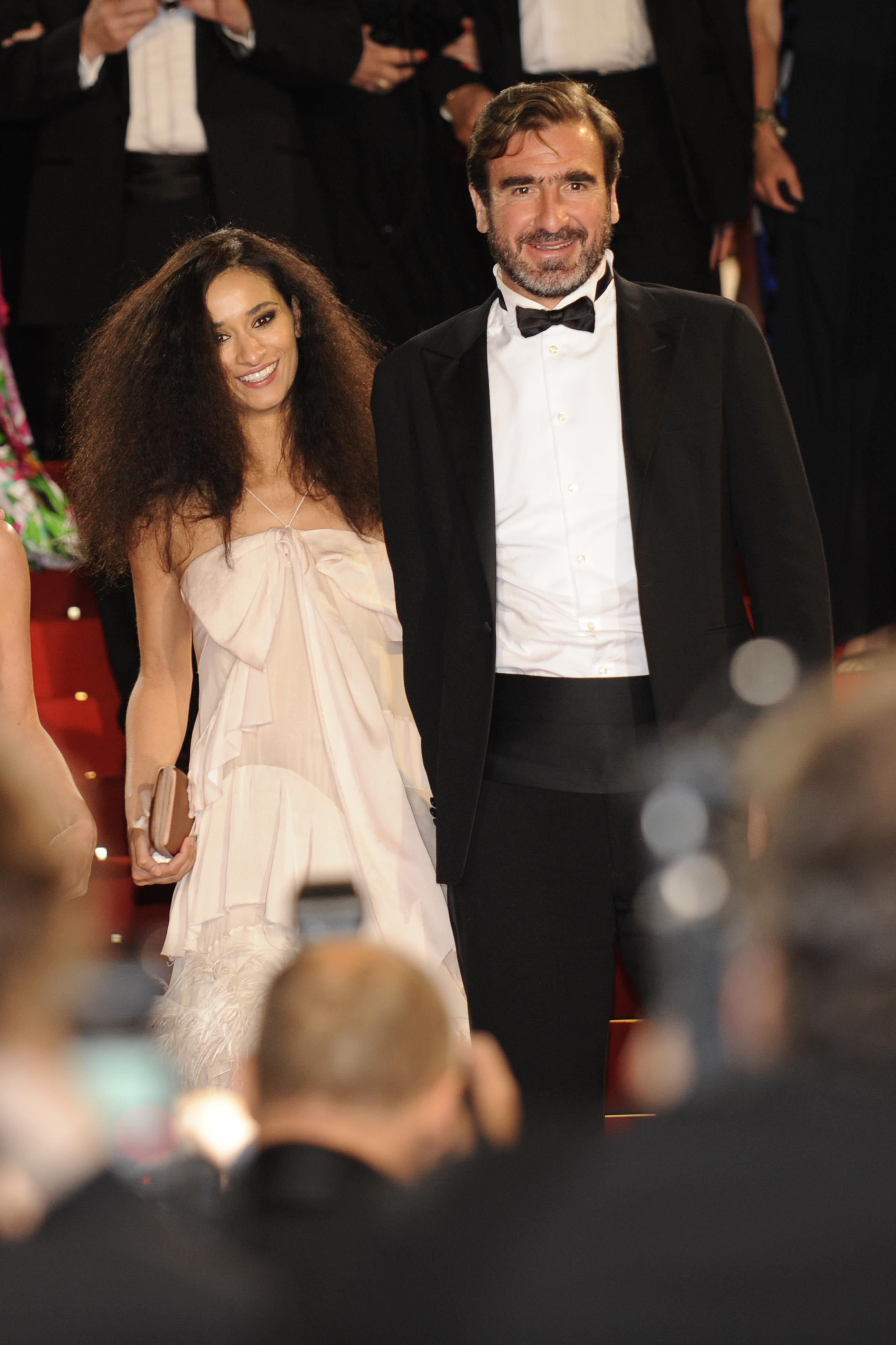 Eric cantona and his wife rachida brakni attend the 'diner des amis du musee d'art. Who Is Eric Cantona S Wife Rachida Brakni How Many Children Do They Have And What Movies Has She Appeared In