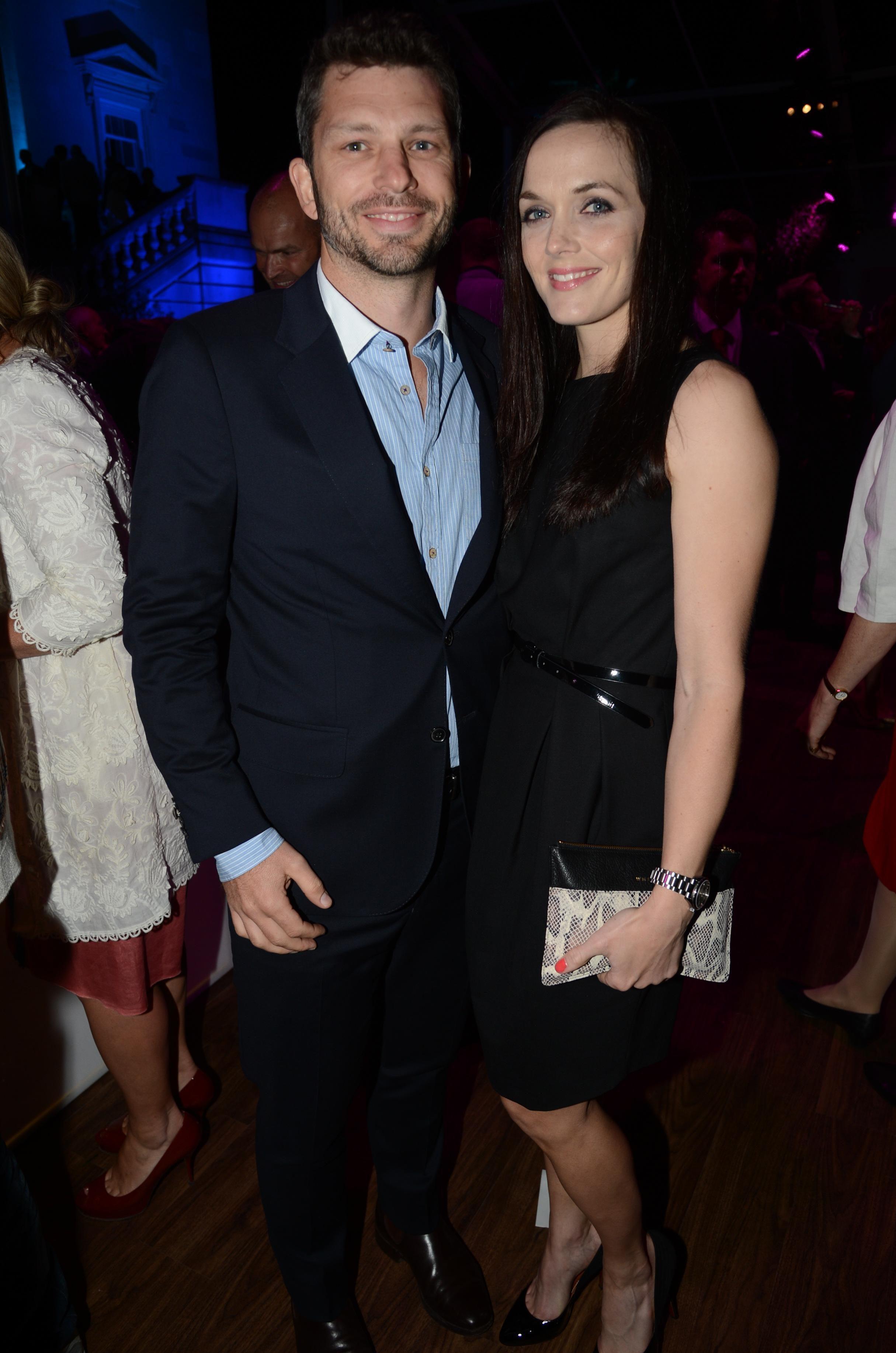 Victoria with her former husband Scott Gardner