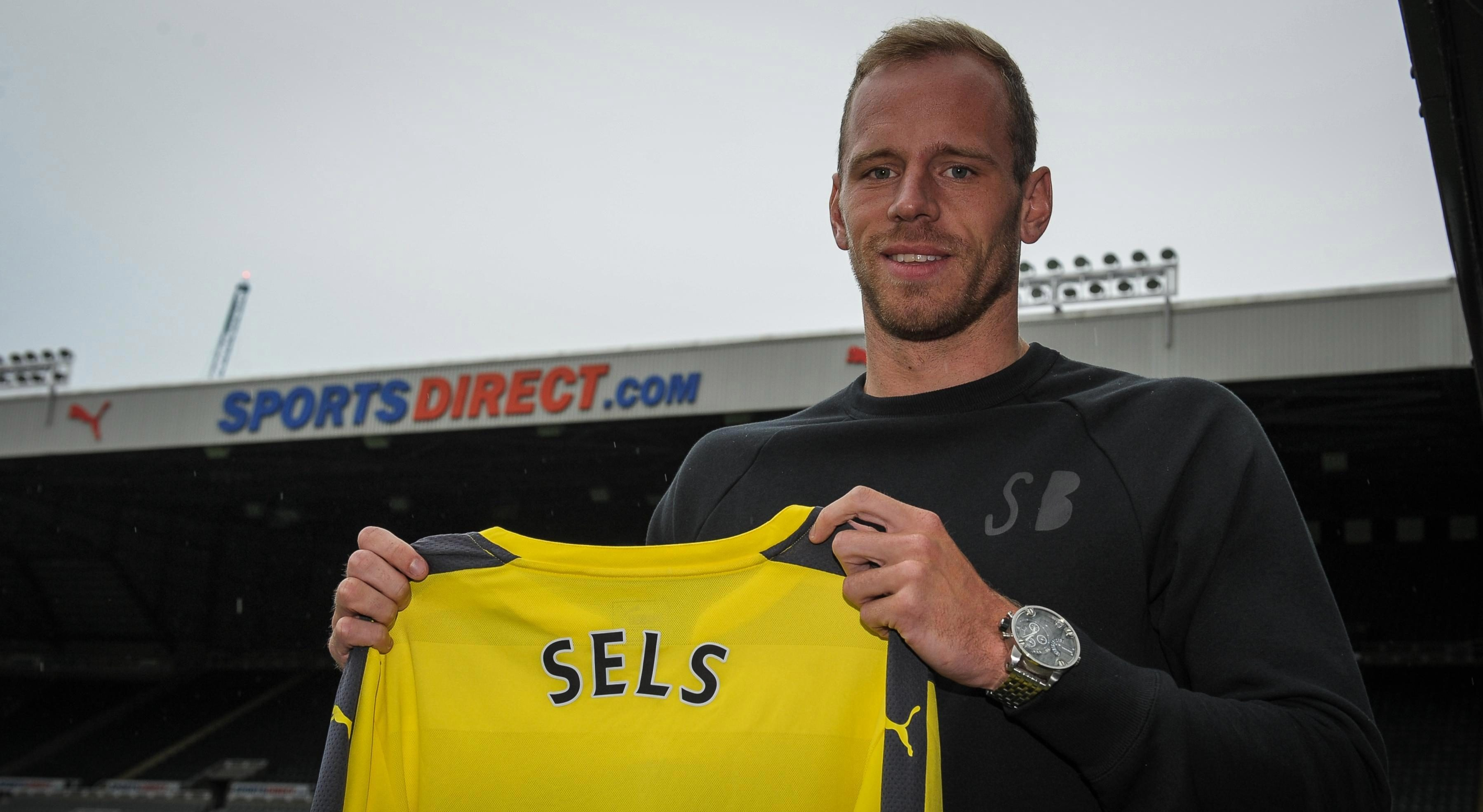 Sels, 26, joined Newcastle in 2016 but spent last season on loan at Anderlecht