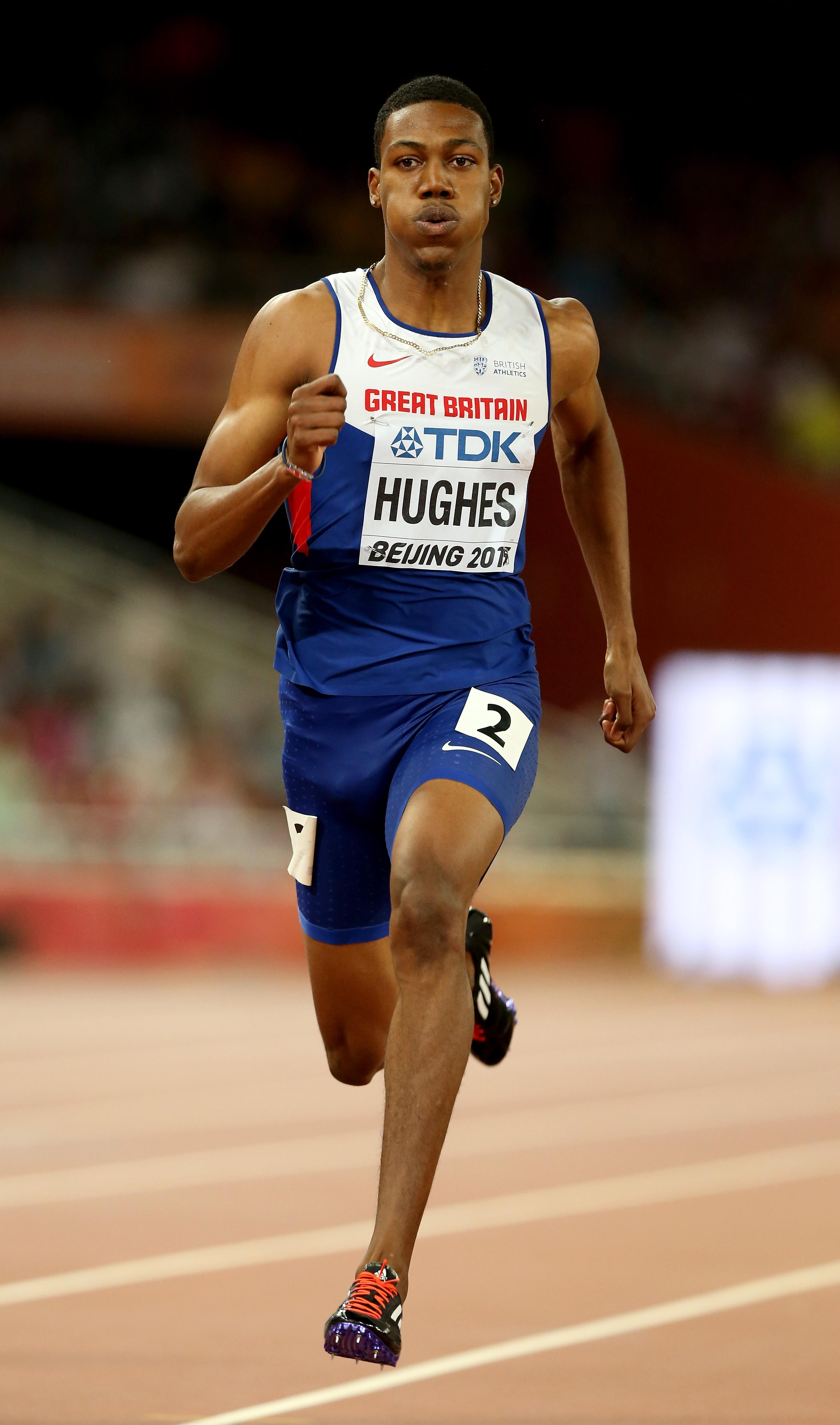 Zharnel Hughes is now second on the all-time list for quickest times run by a British sprinter