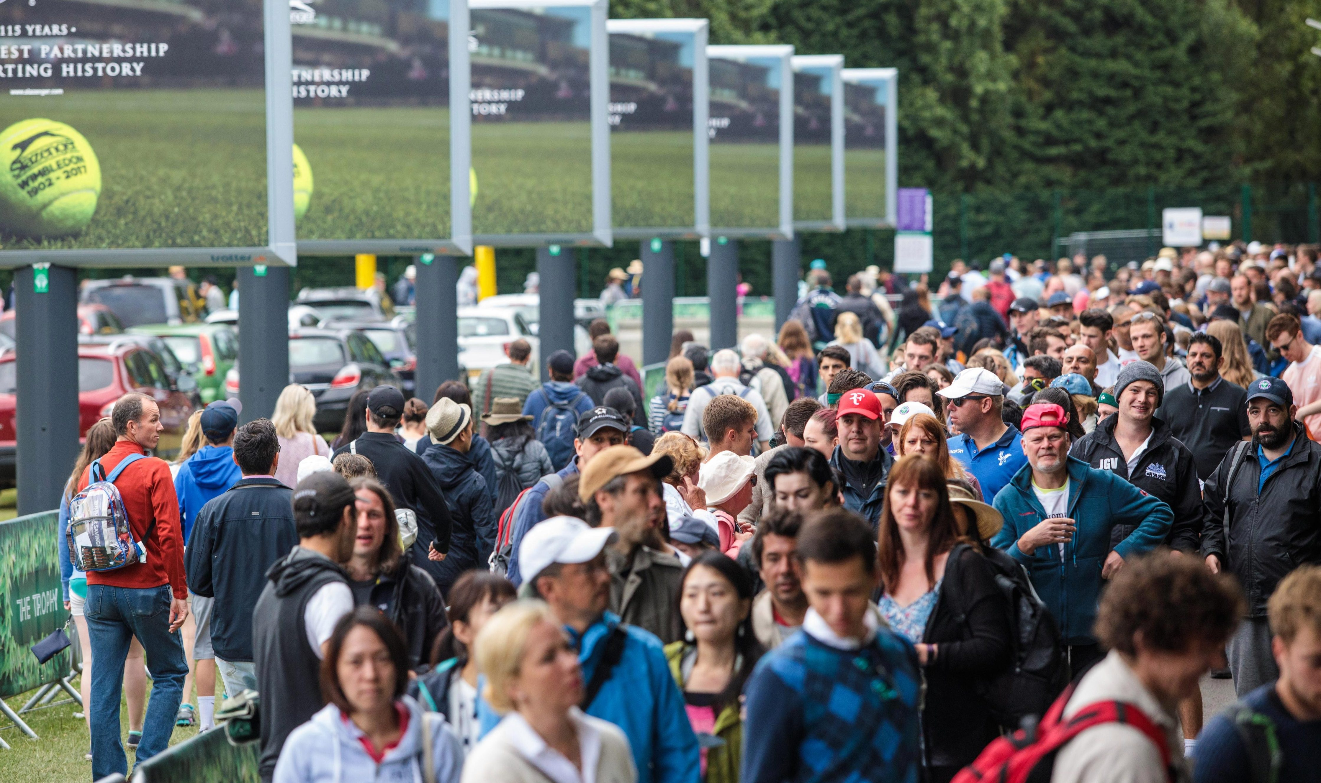 The infamous Wimbledon queue will be operating again