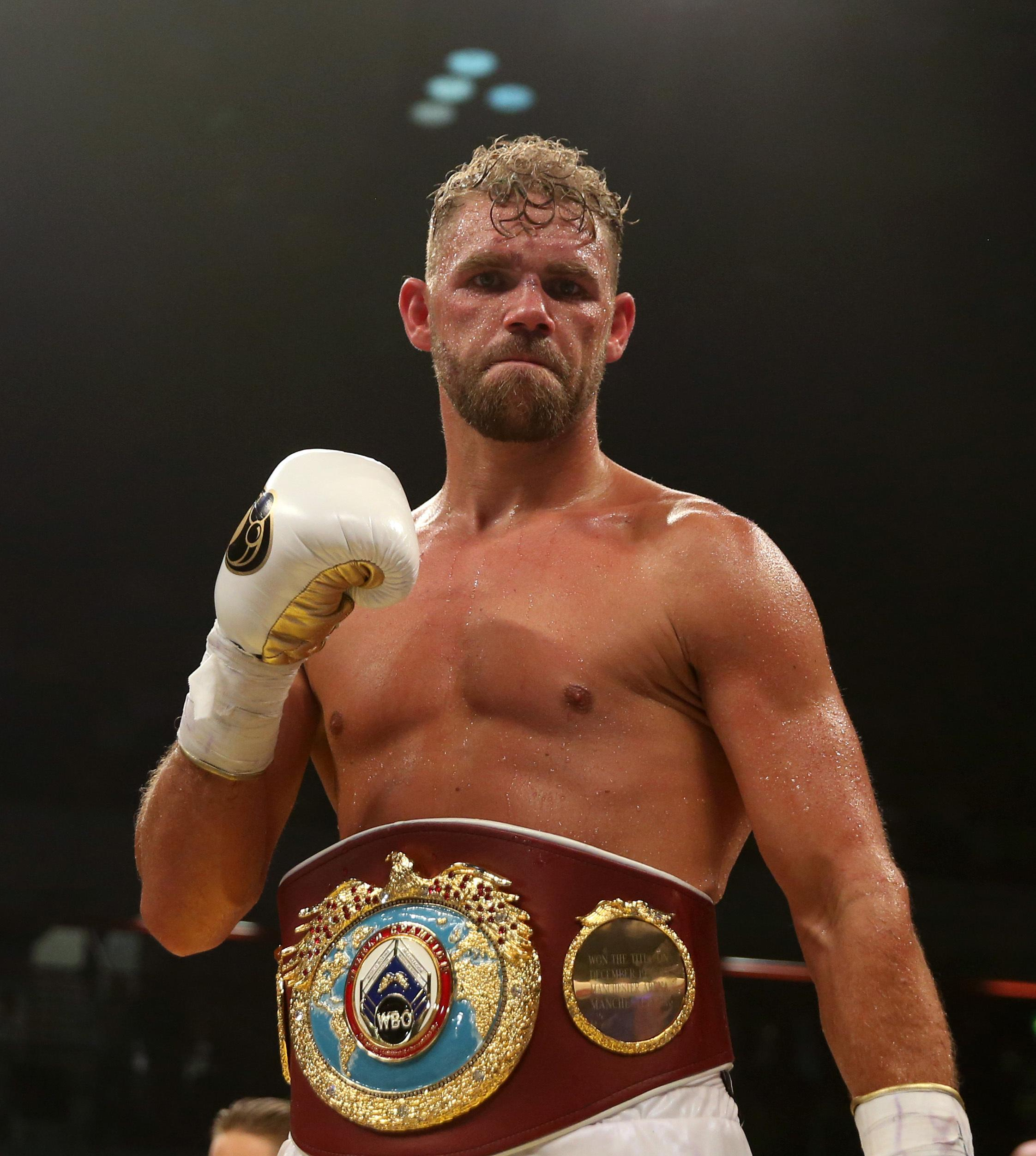 Billy Joe Saunders failed to land a unification clash with Gennady Golovkin