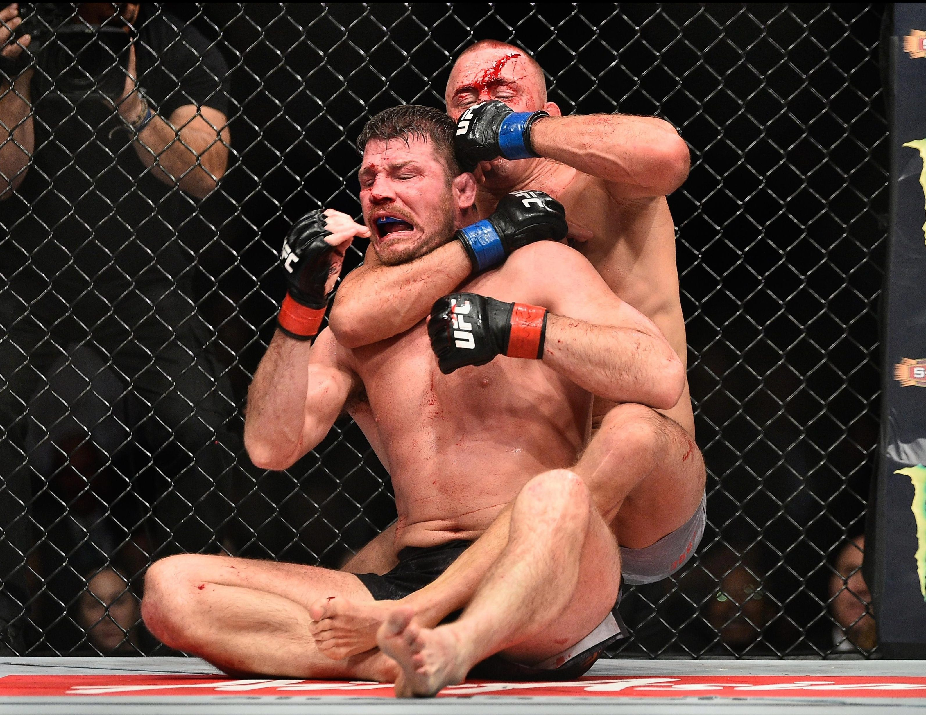 Georges St-Pierre has not fought since beating Michael Bisping last November