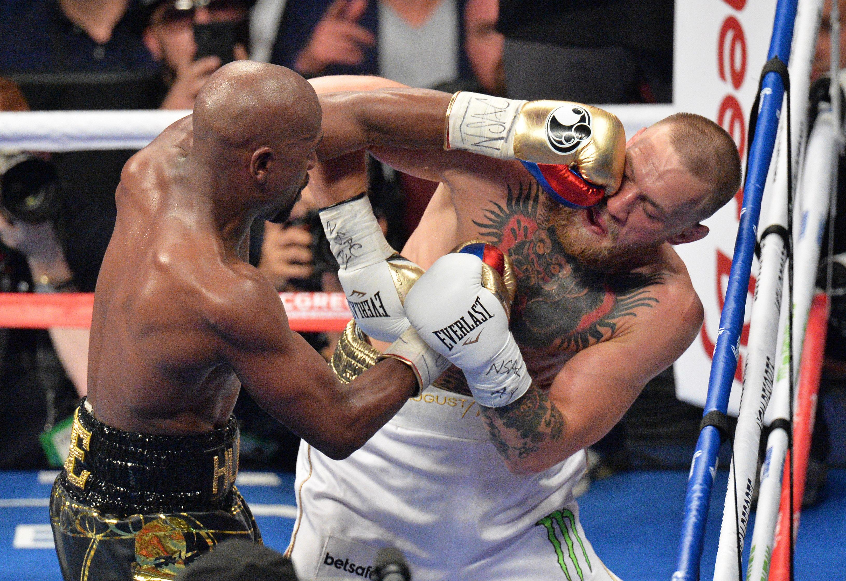 Mayweather, 41, knocked out McGregor in the tenth round in their bout last August