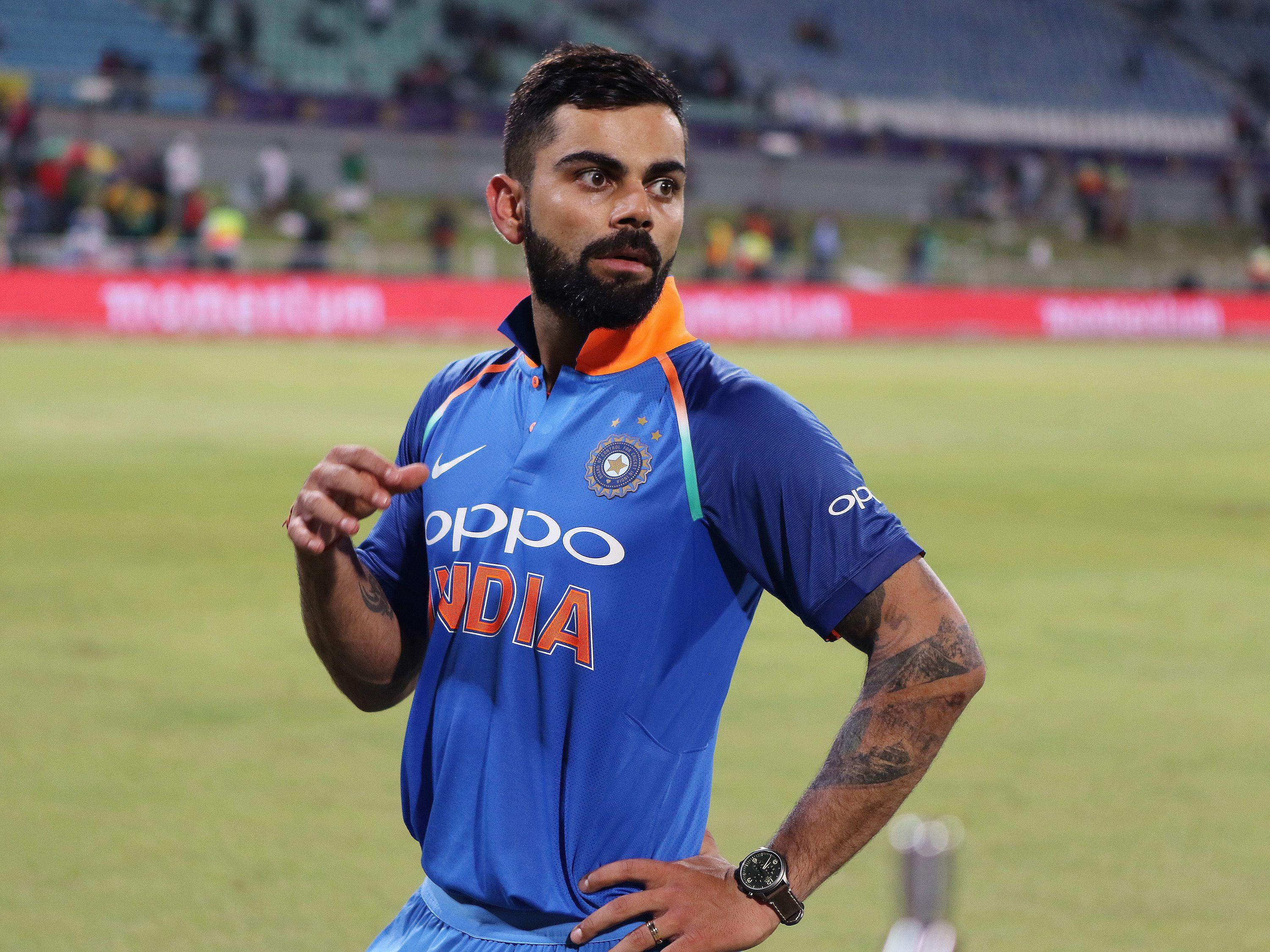 Virat Kohli is expected to be the star man for India in Dublin
