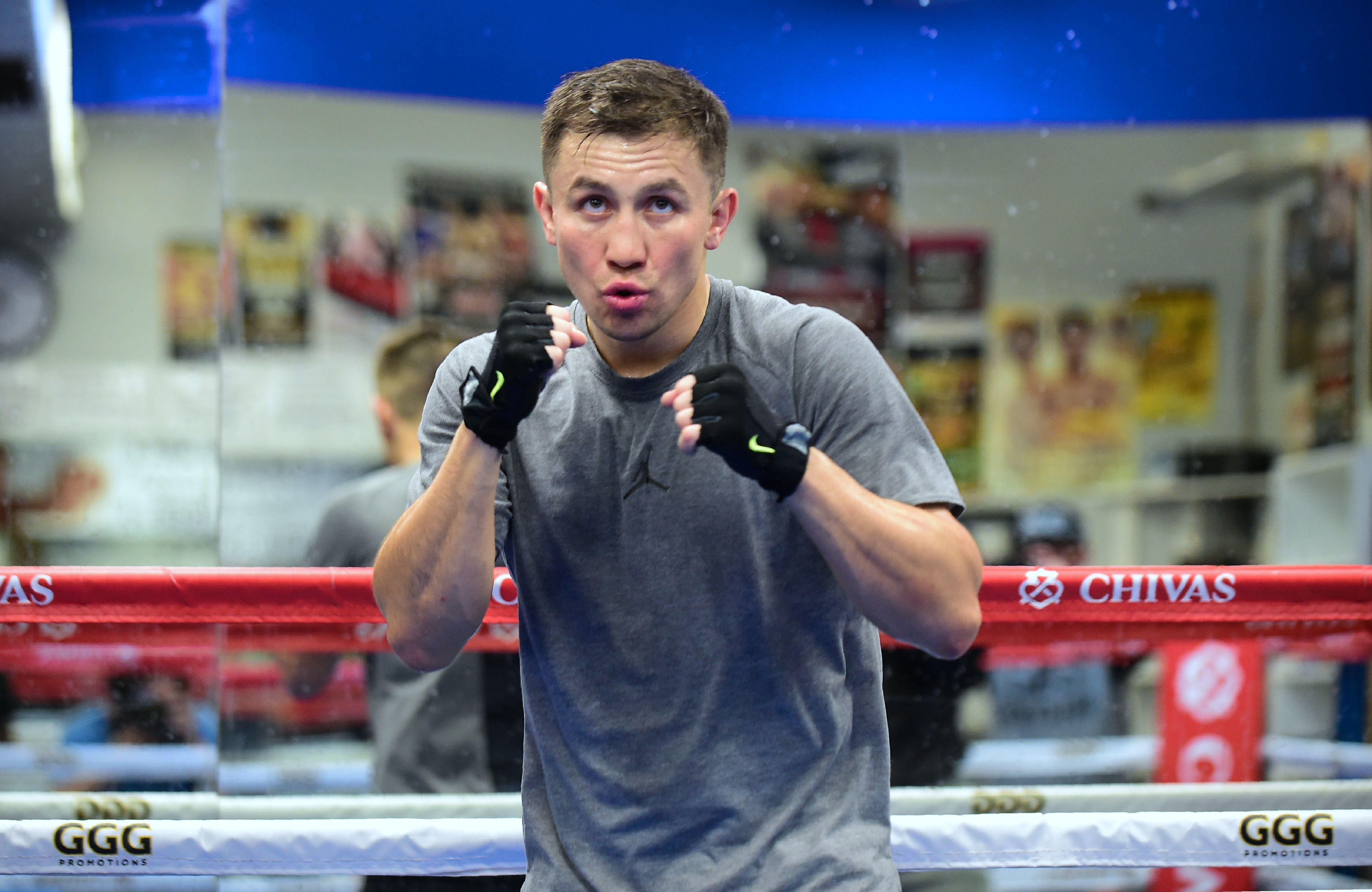 Gennady Golovkin, and all his belts, refused to accept a lower fee than Canelo would be getting