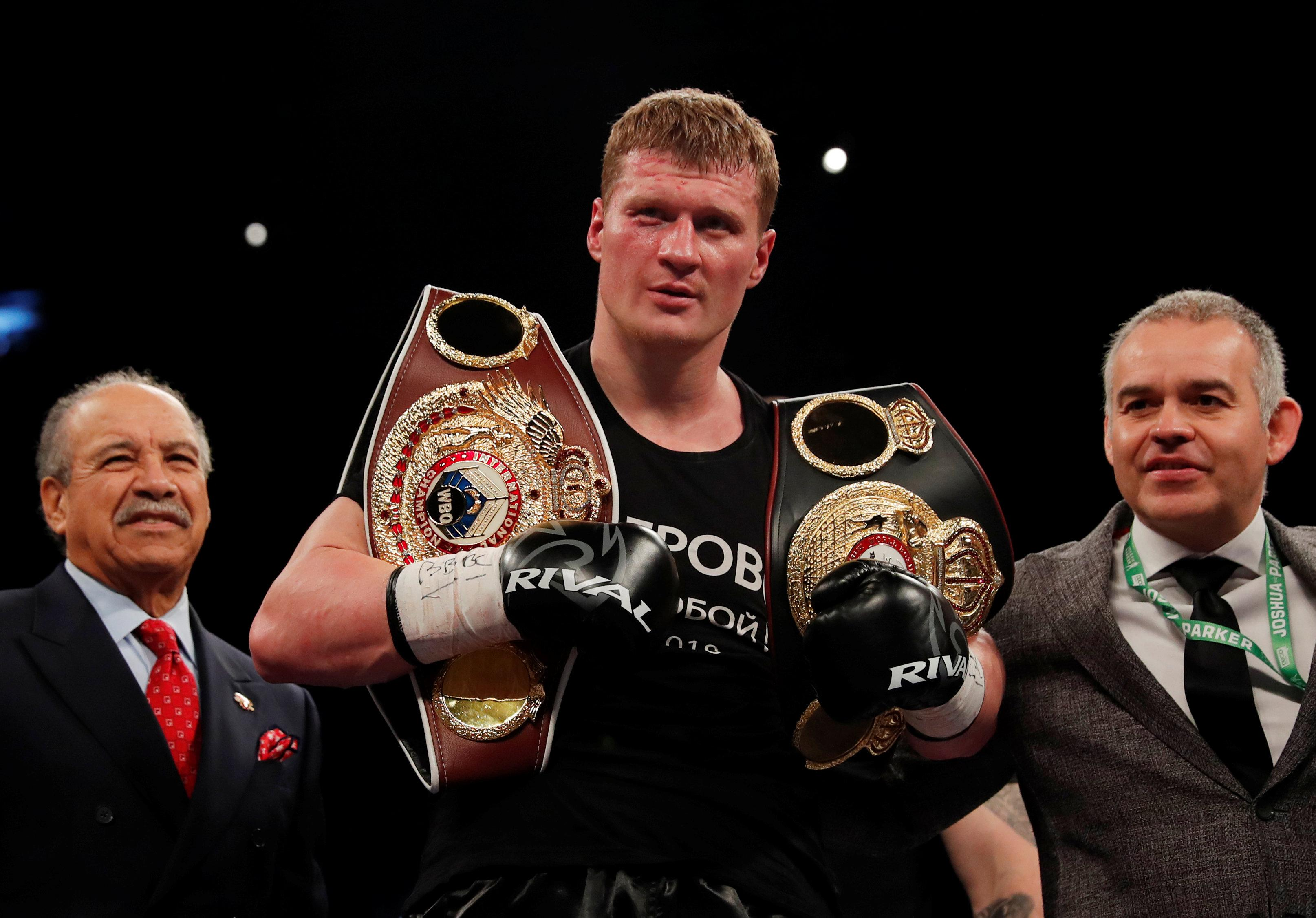 Promoter Eddie Hearn says Joshua is more likely to take on Alexander Povetkin