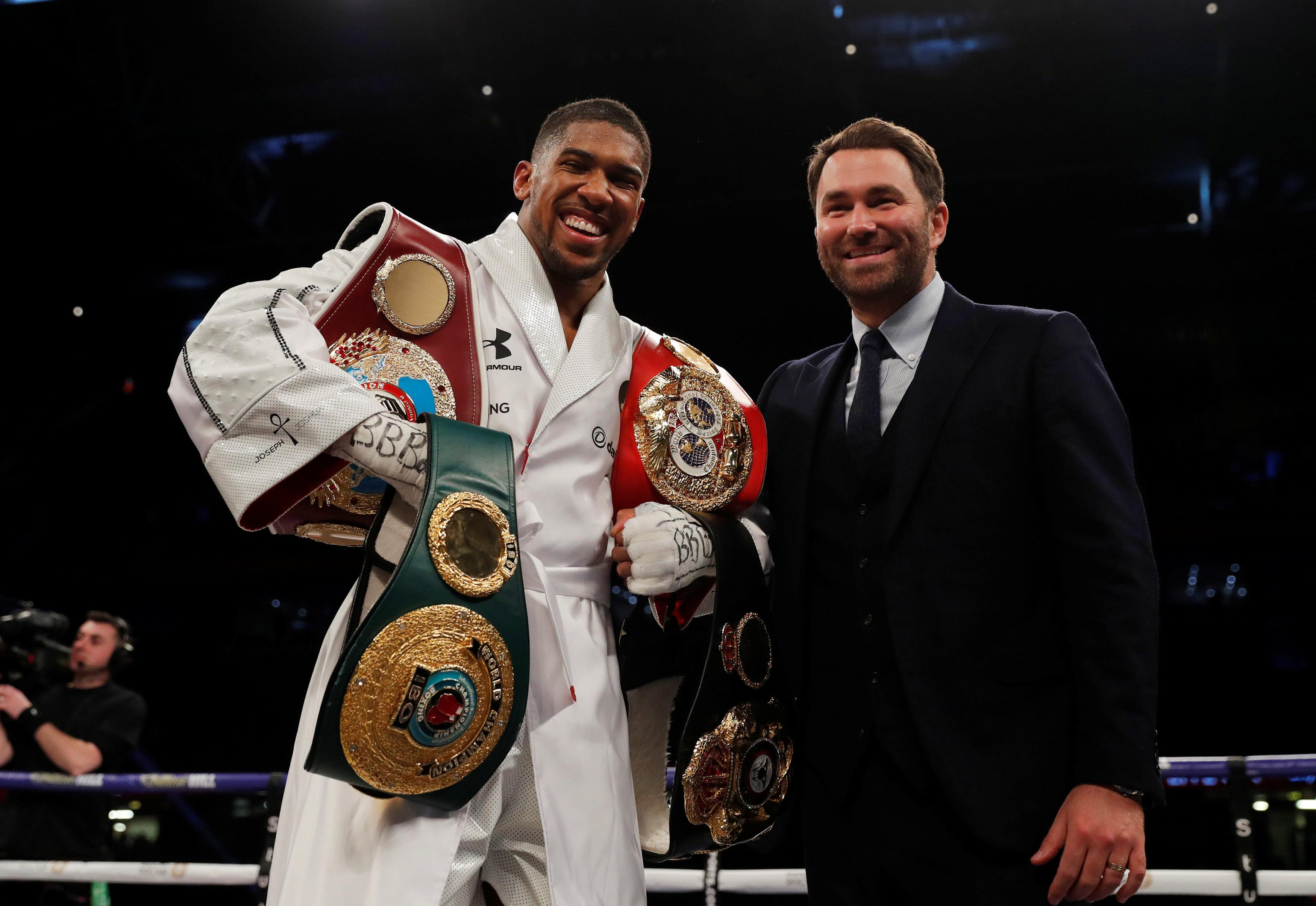 Promoter Hearn's offer was blasted by Wilder