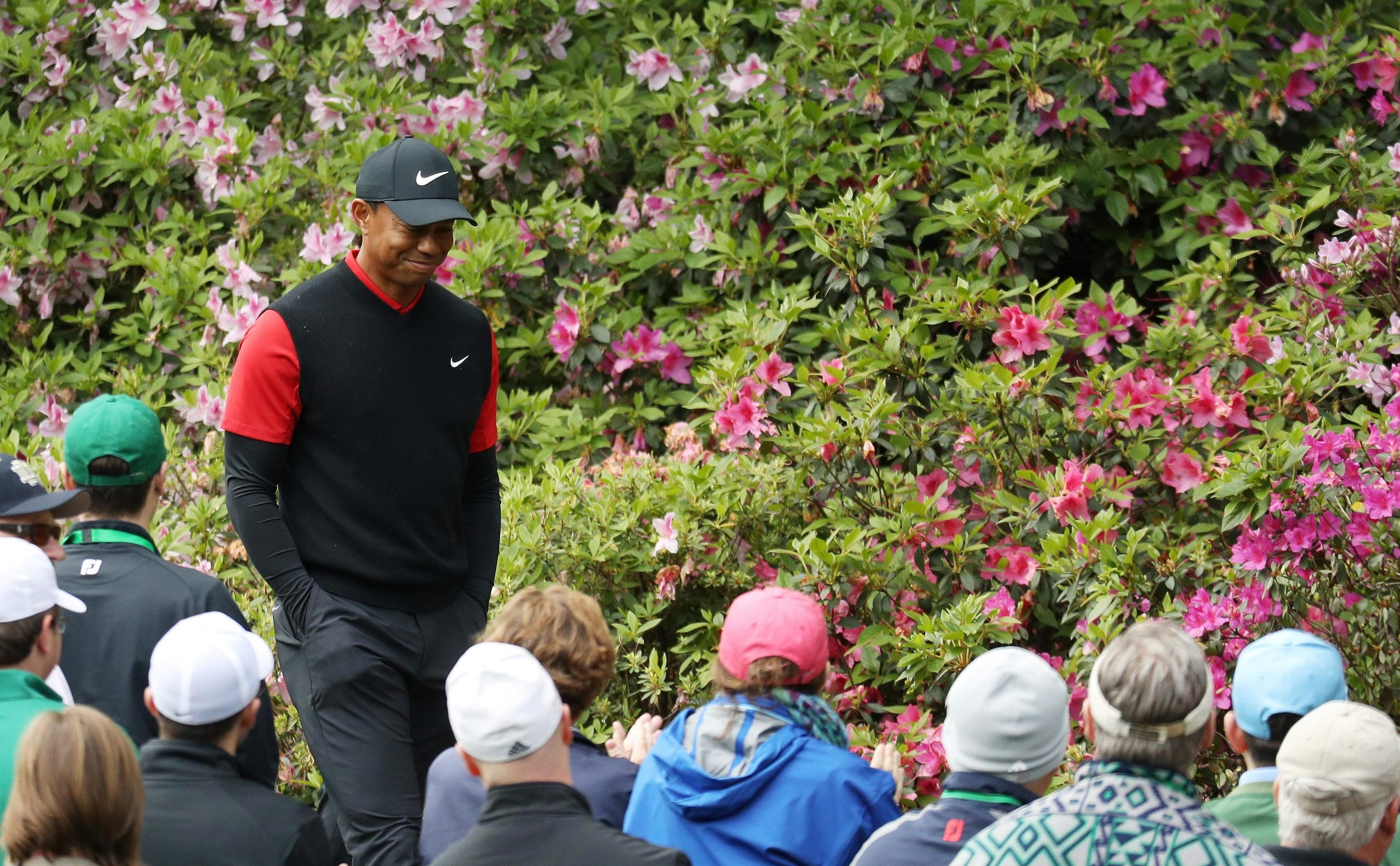 Woods finished tied for 32nd at Aprils Masters, ending his four rounds with a final score of 3 under par