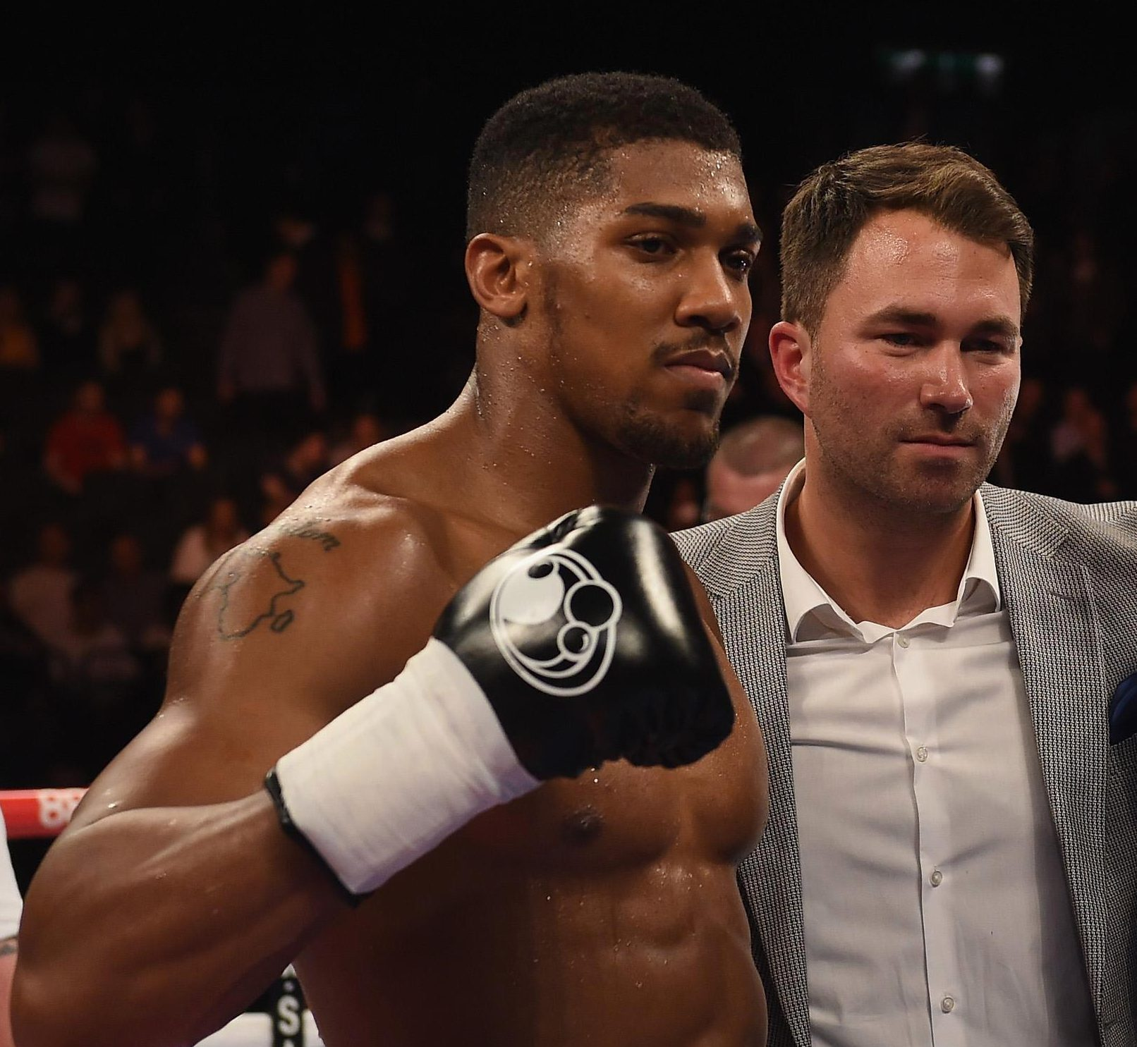 Eddie Hearn has been told to line AJ up with a fight against Alexander Povetkin