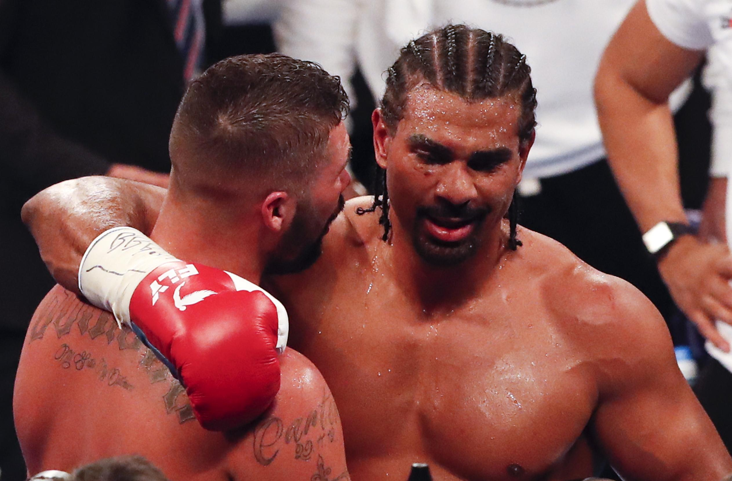 The 32nd and final fight of Haye's career ended in defeat against Tony Bellew, leaving him with a 28-4 career record