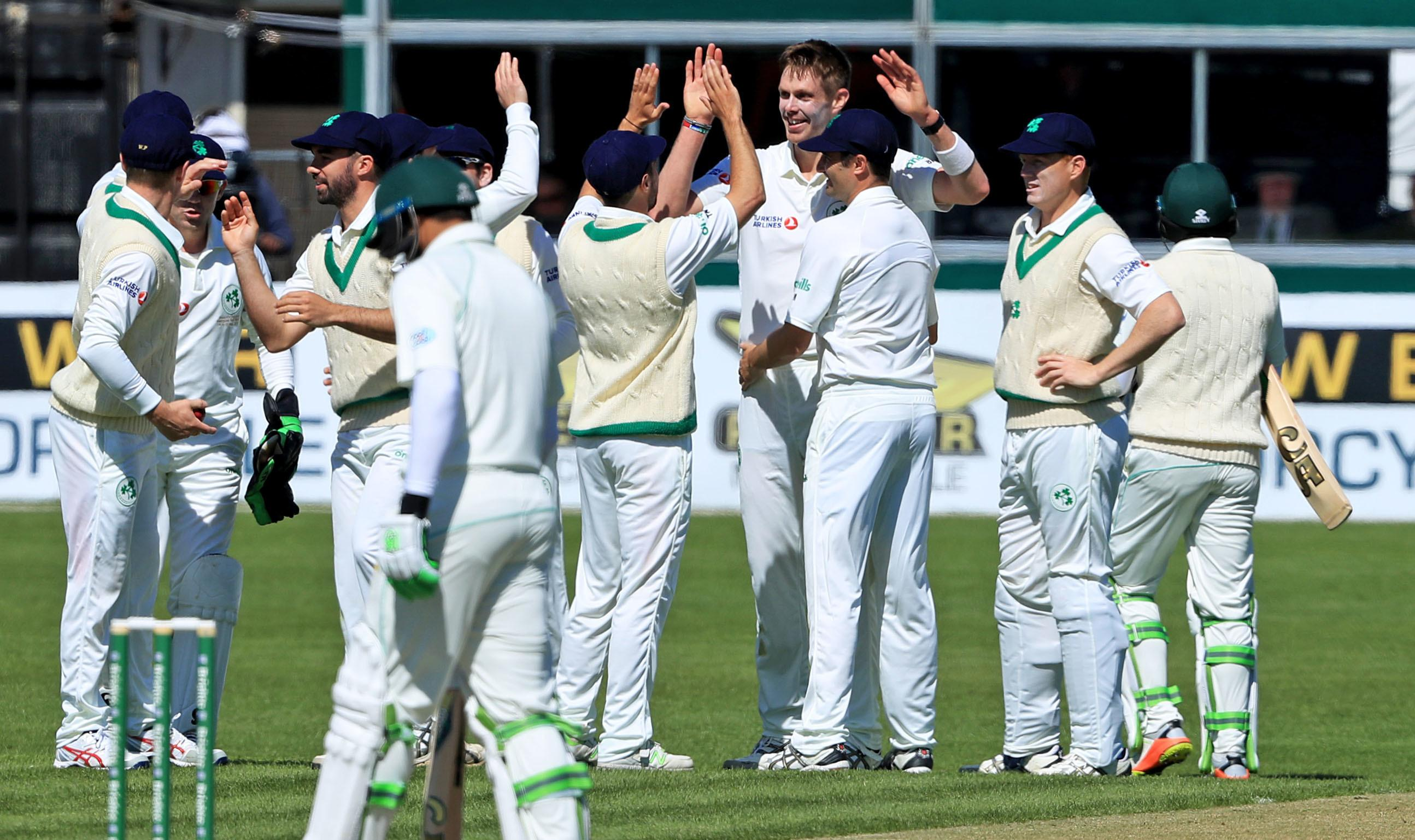 Ireland hosted Pakistan in their inaugural Test at Malahide in May
