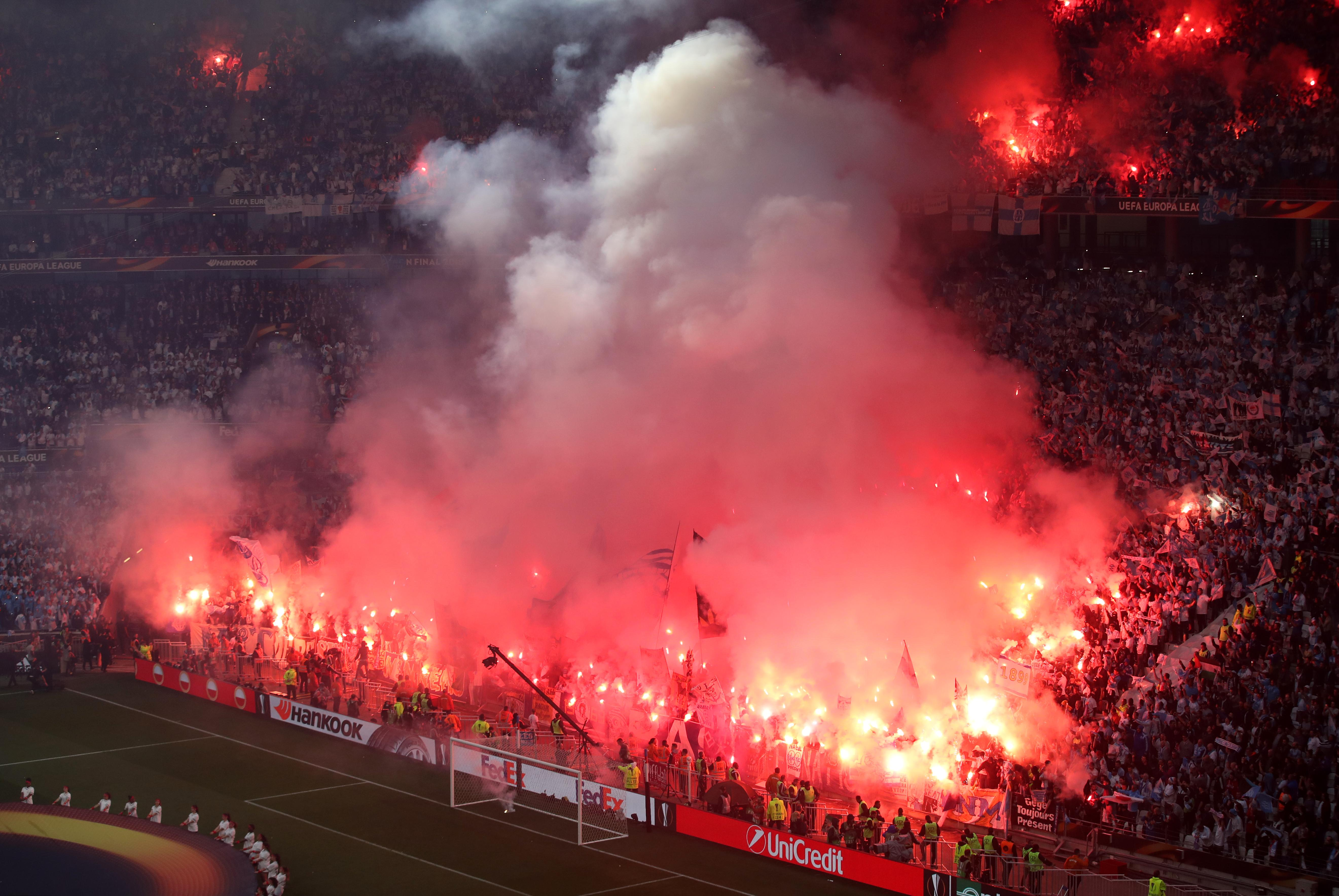 Atletico Madrid fans stadium closure after 'racist' banner in Europa League final