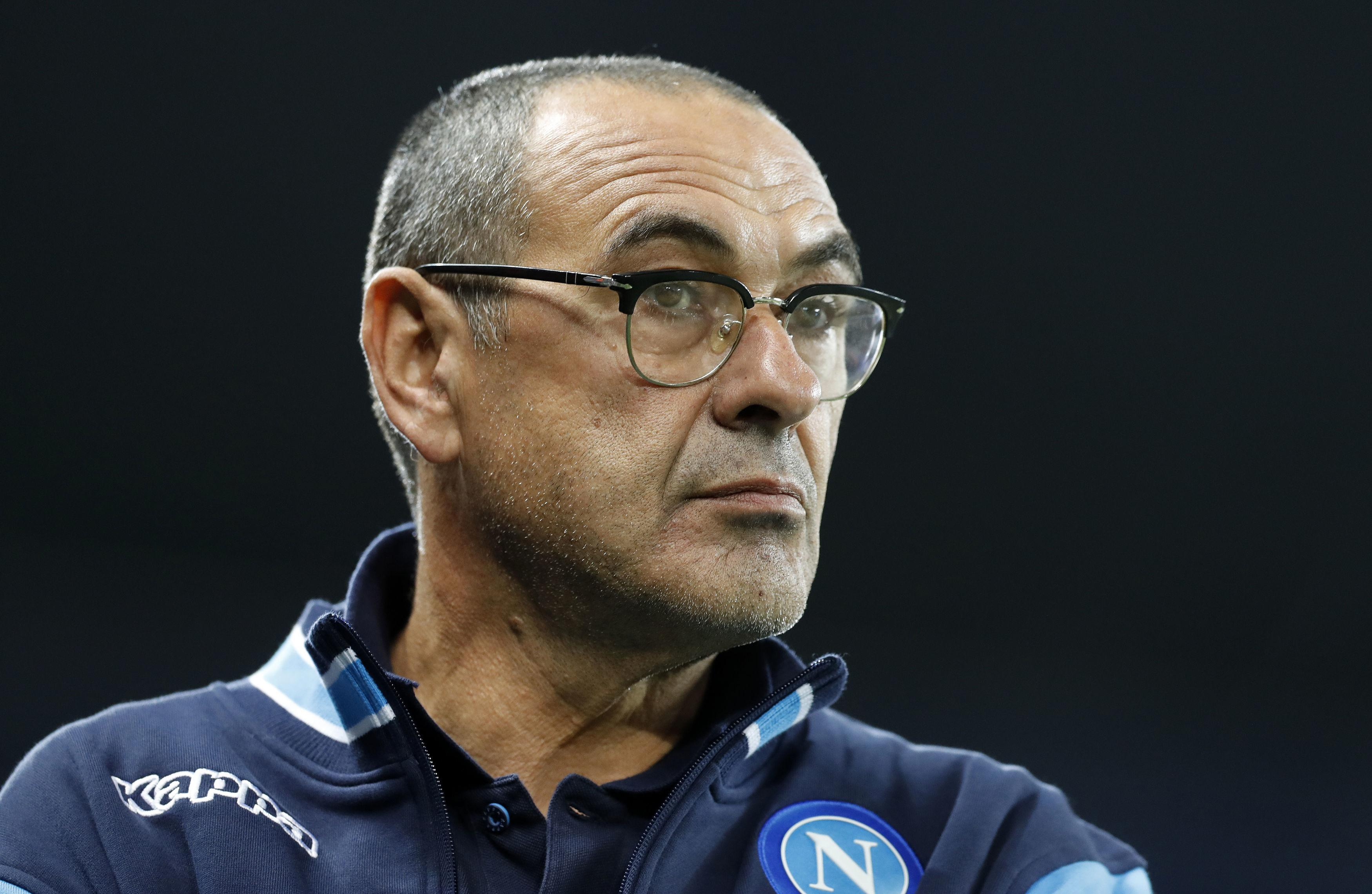 Chelsea have not contacted Napoli over Maurizio Sarri claims club president