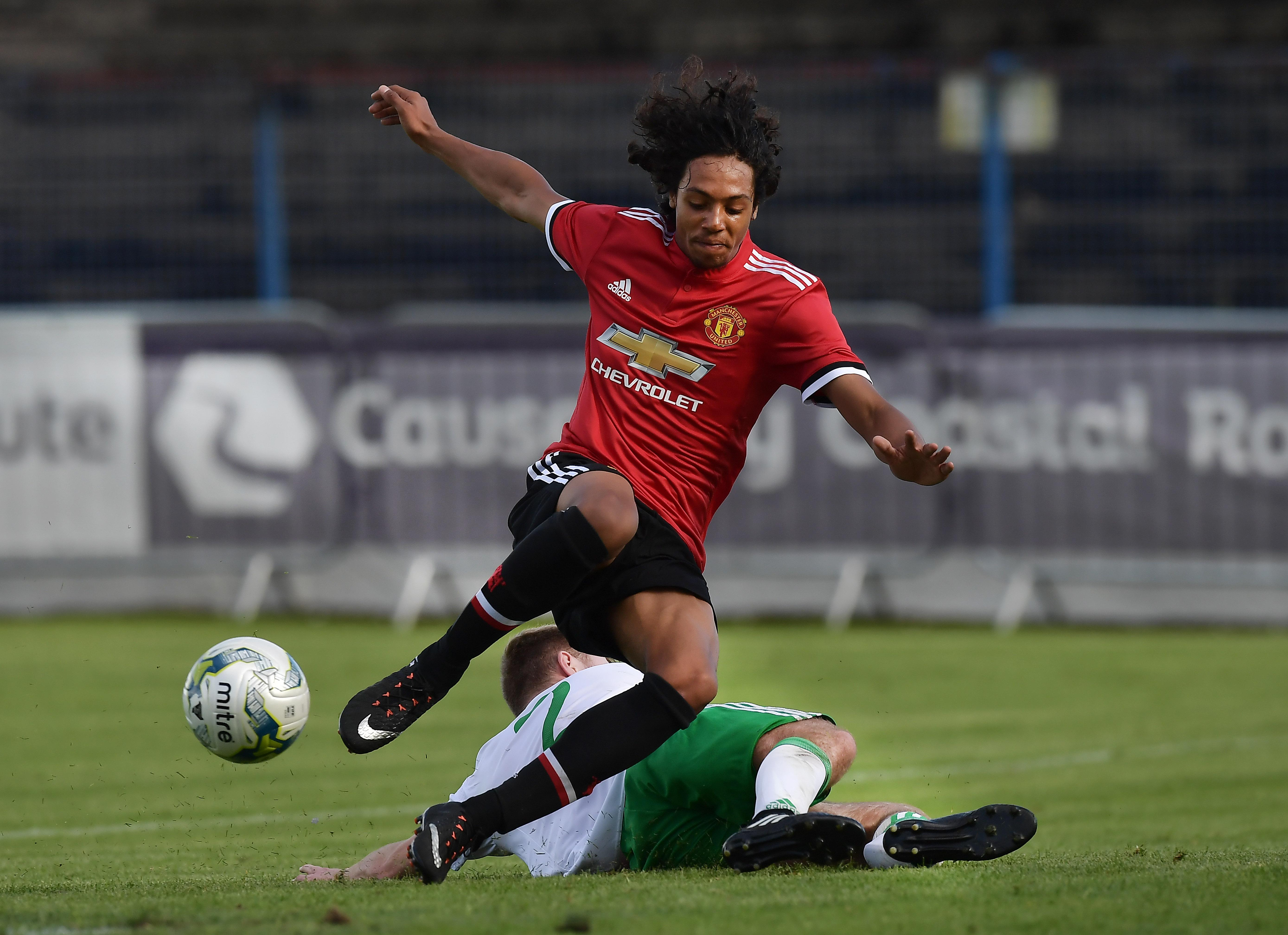 D'Mani Mellor is the latest youngster to pen a deal with the Red Devils