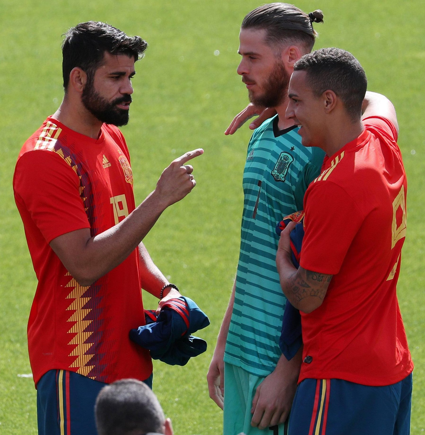 The Spanish players will fancy their chances of undermining defensive-minded Iran