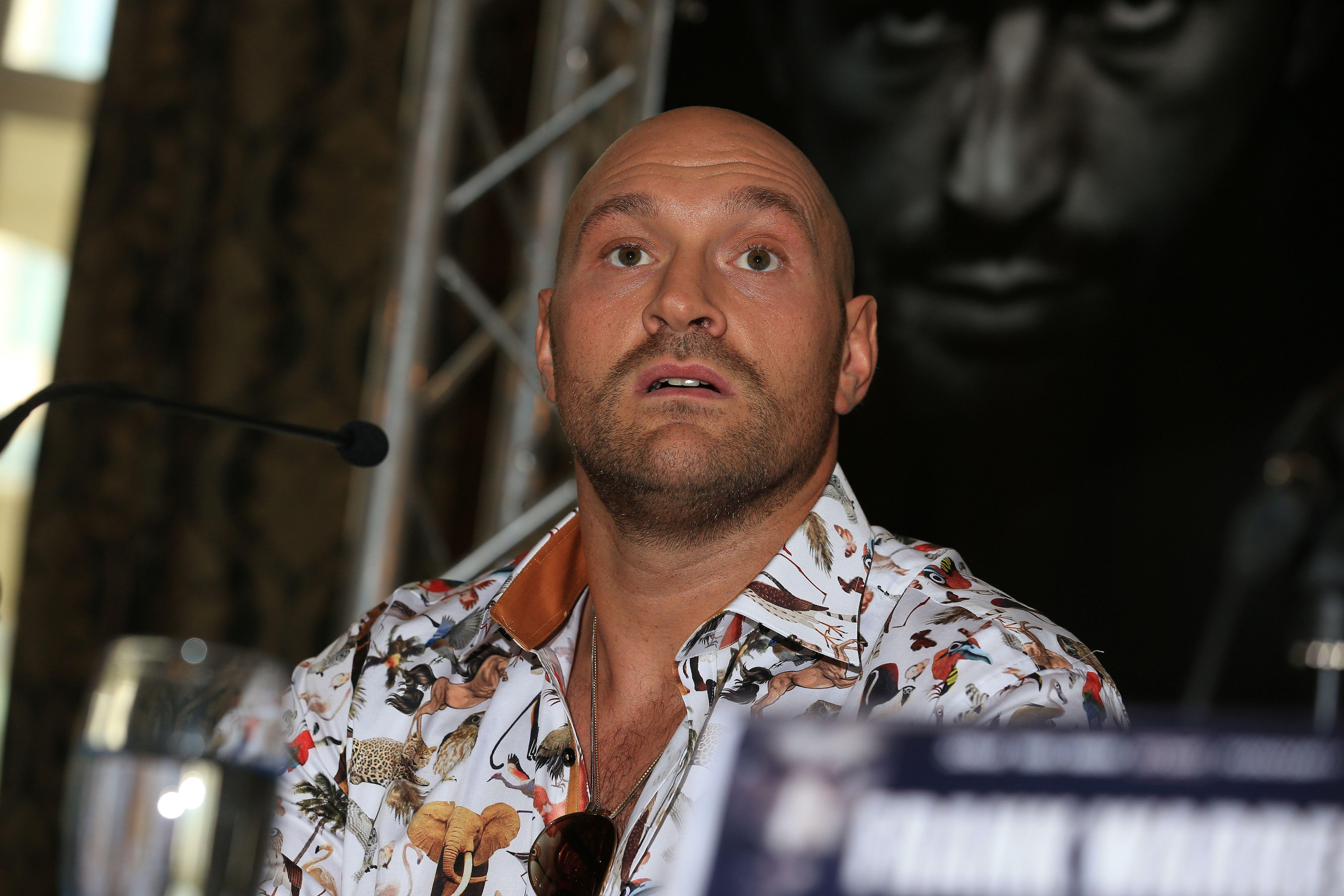 Fury is all set to make his comeback on June 9