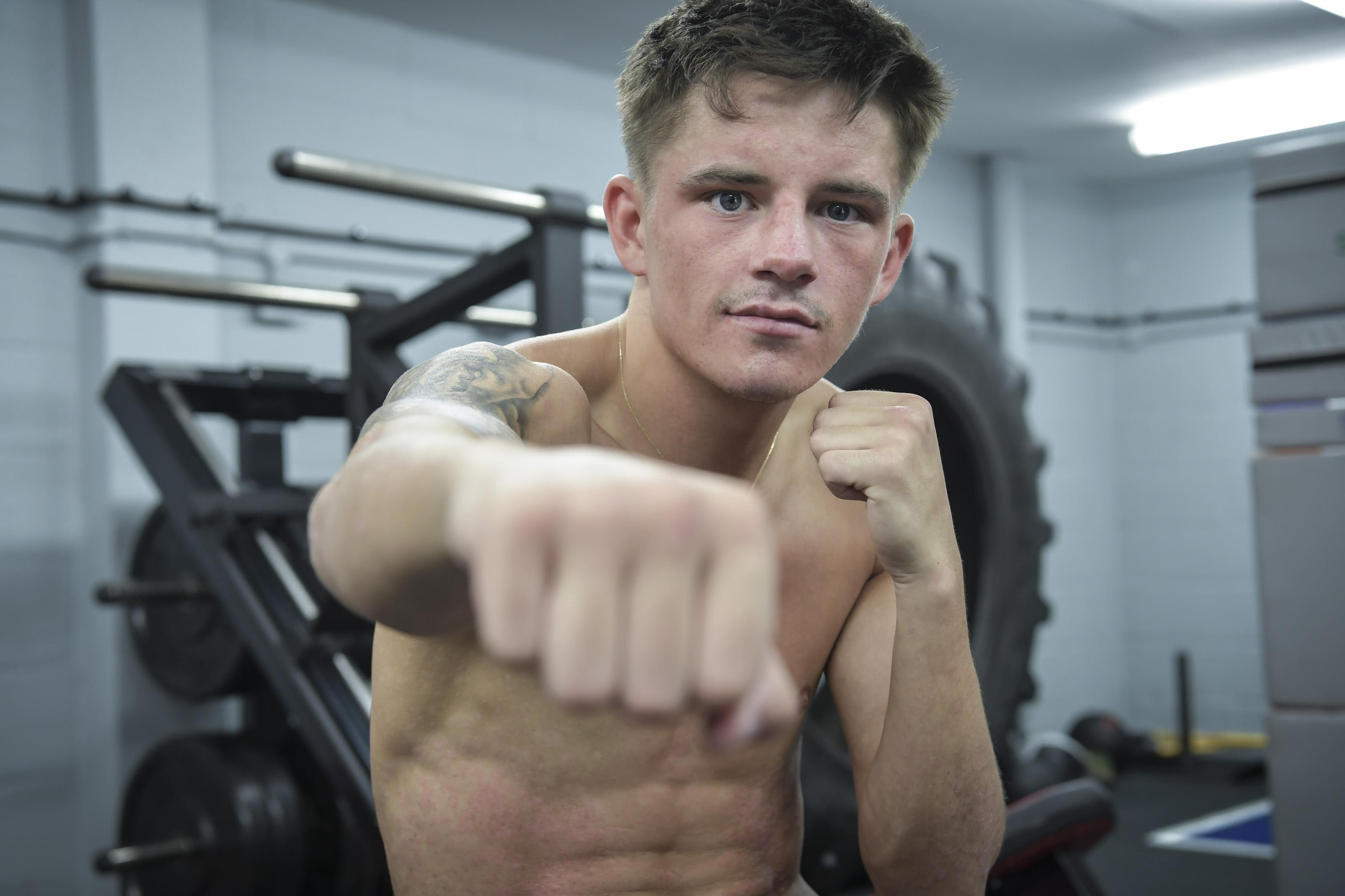 Lee McGregor is preparing for the biggest fight of his life knowing his loved ones are looking down on him