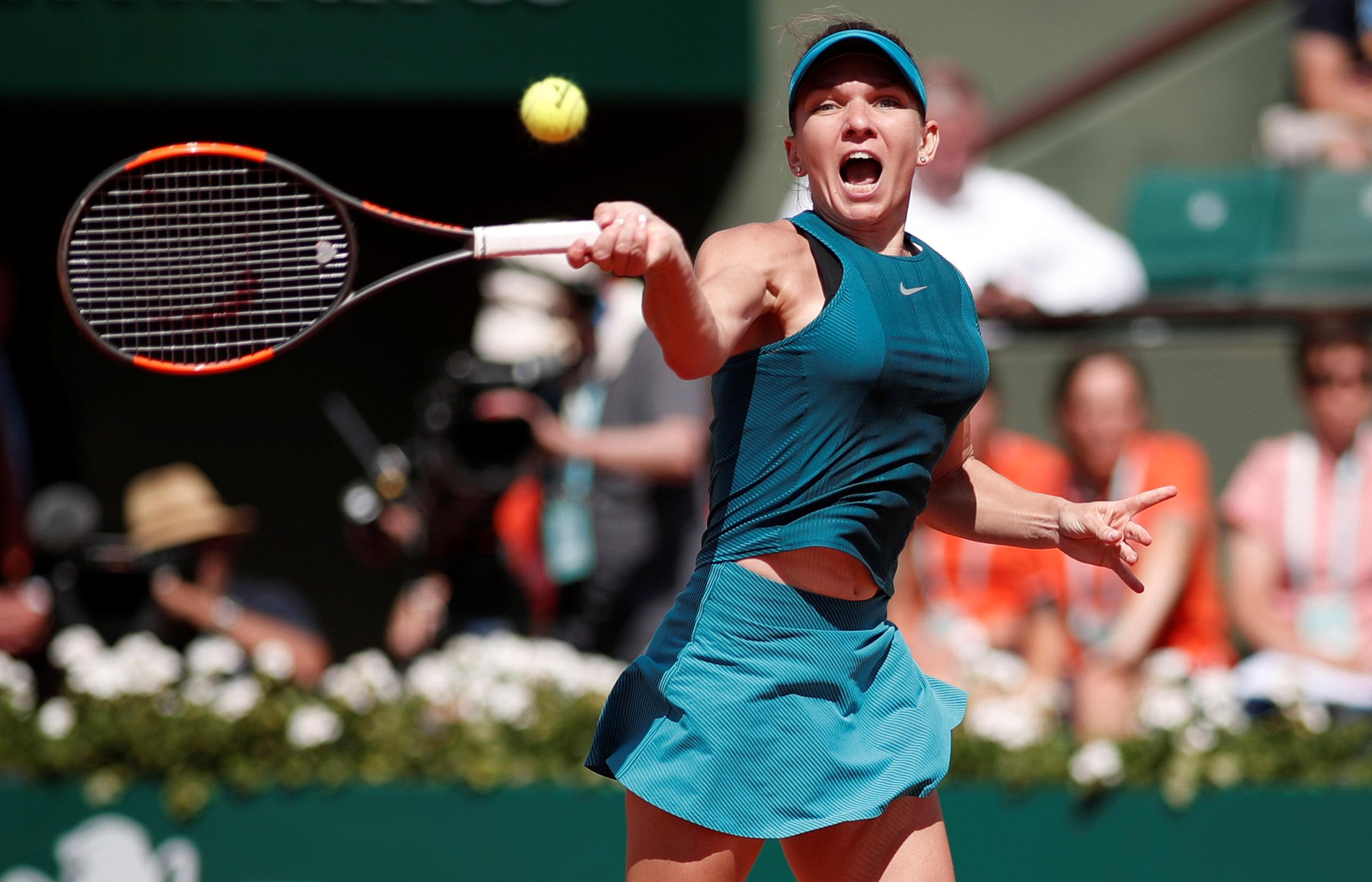 Halep has lost in her two previous French Open finals as she looks to win her maiden Grand Slam