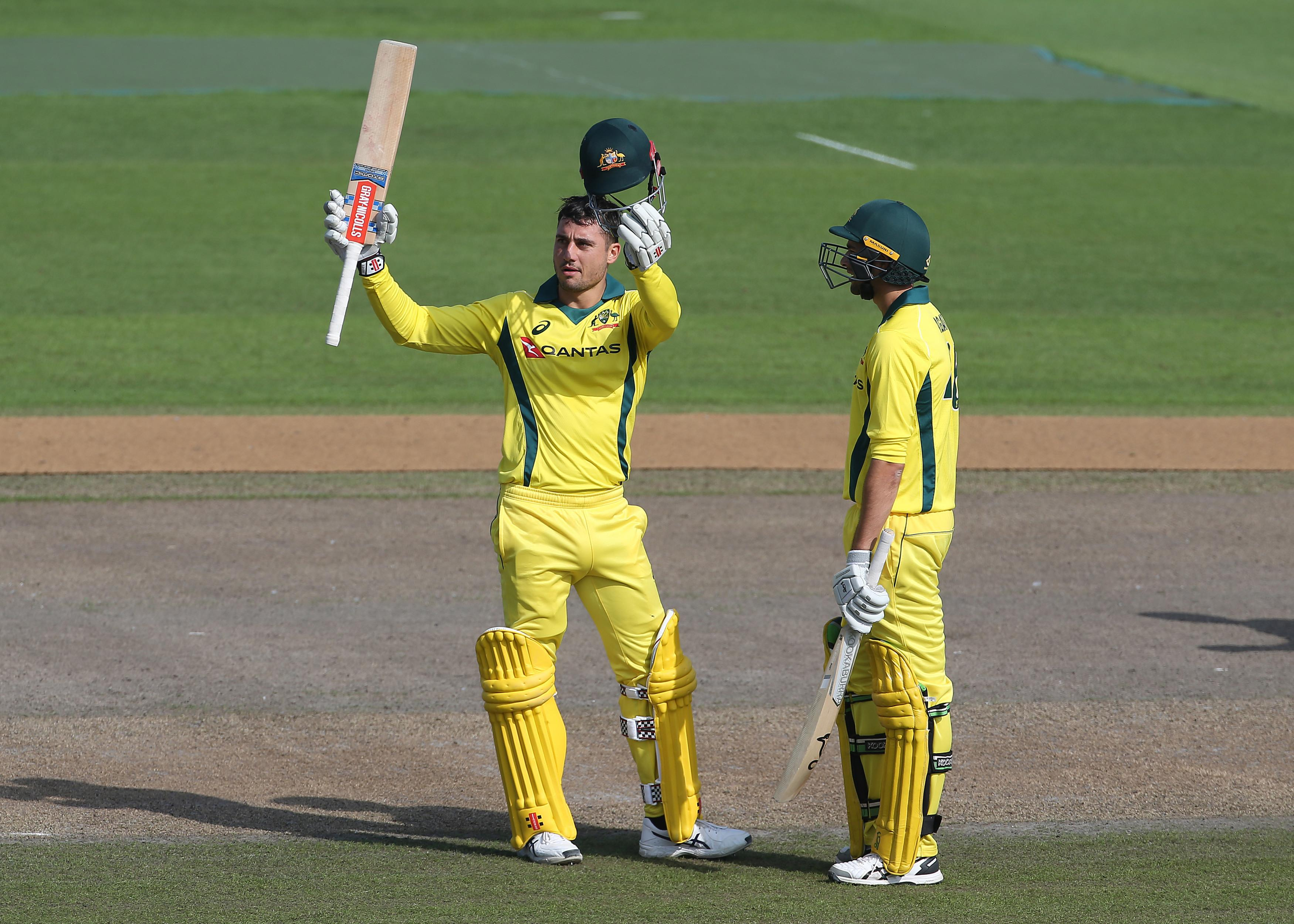 Marcus Stoinis scored a brilliant century as Australia won their first match since the sandpaper scandal
