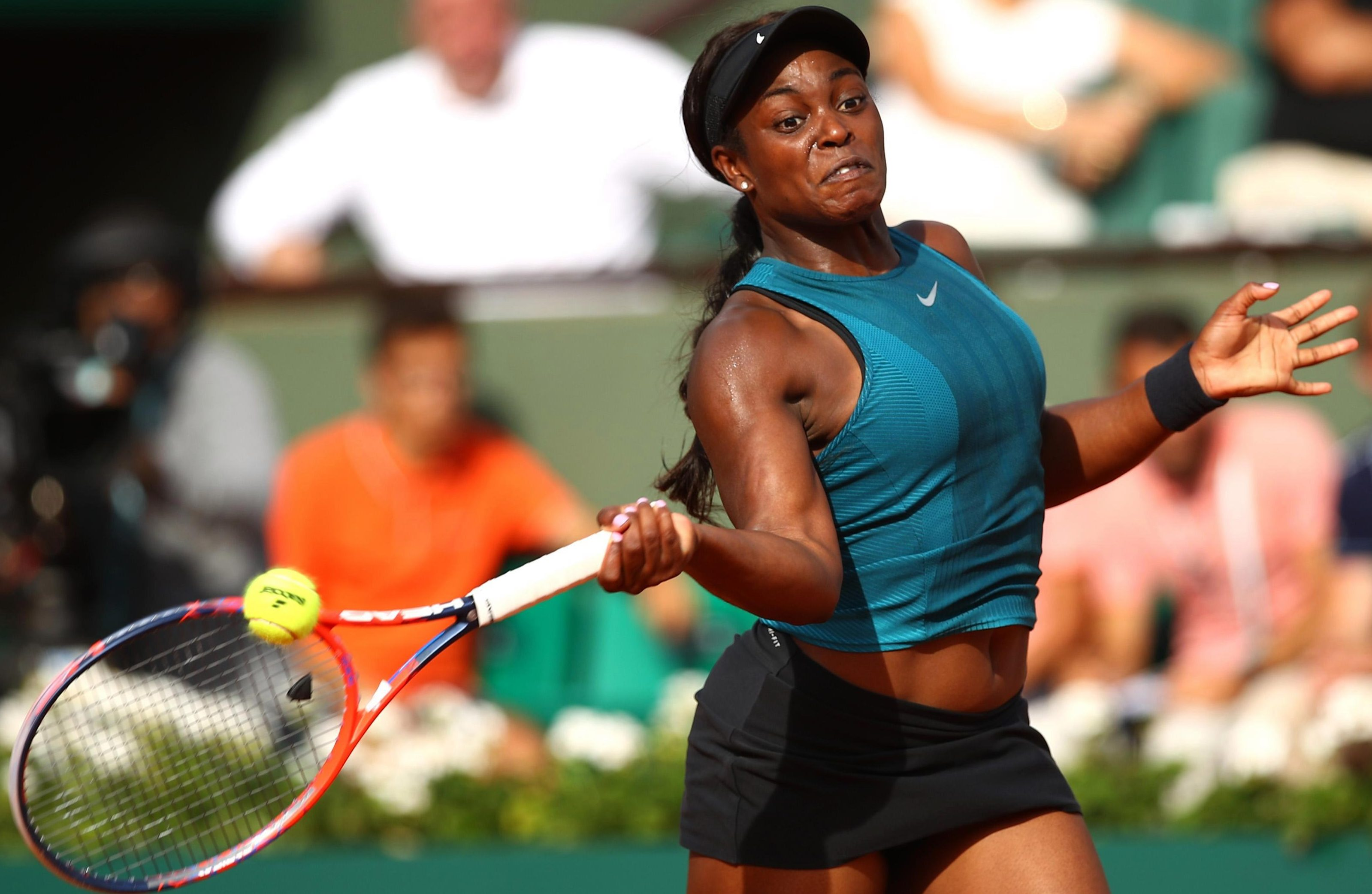 Stephens is into her first final in Paris as she looks to add to her US Open title