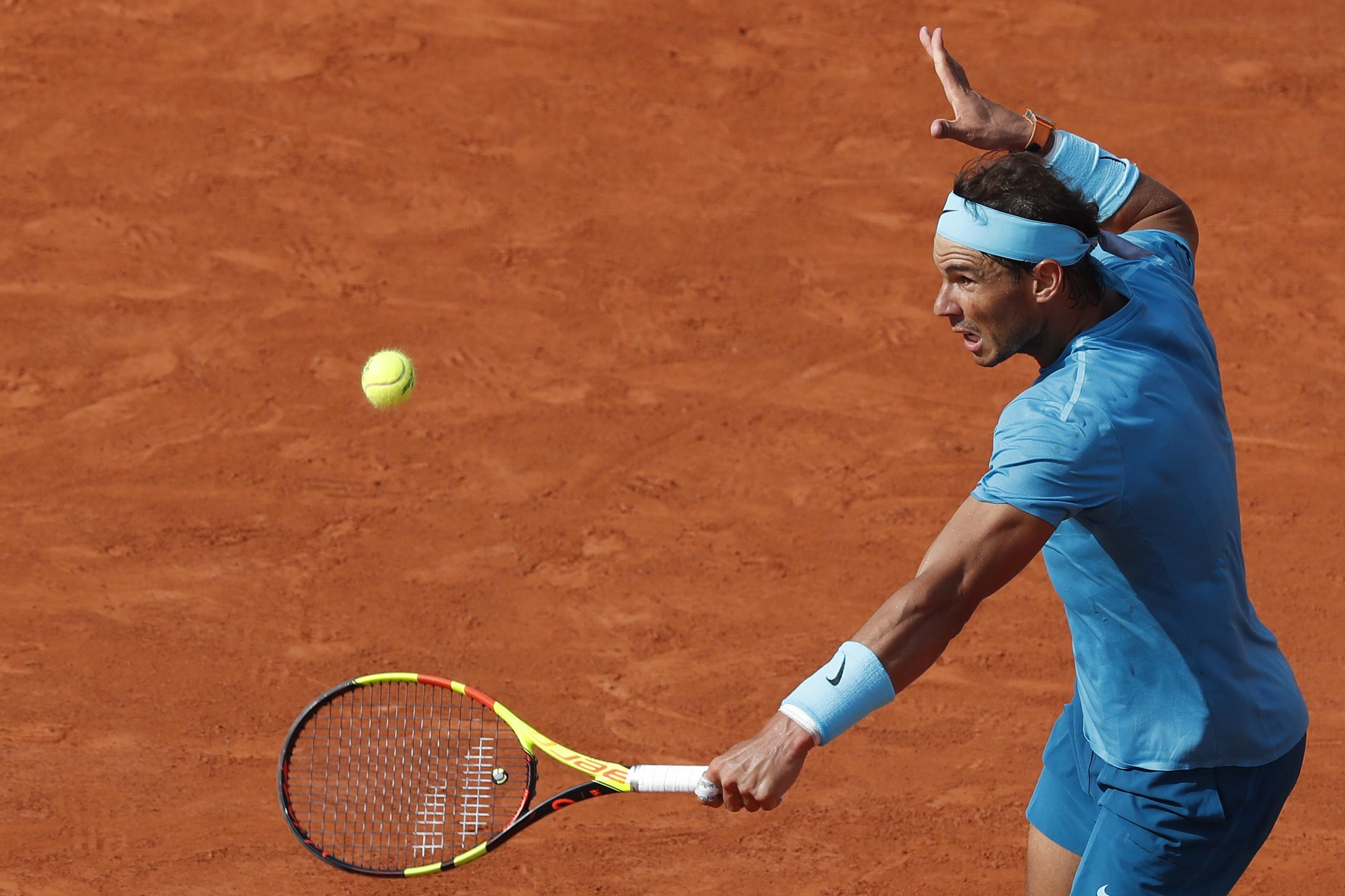 Spain star Nadal beat his Juan Martin Del Potro in straight sets