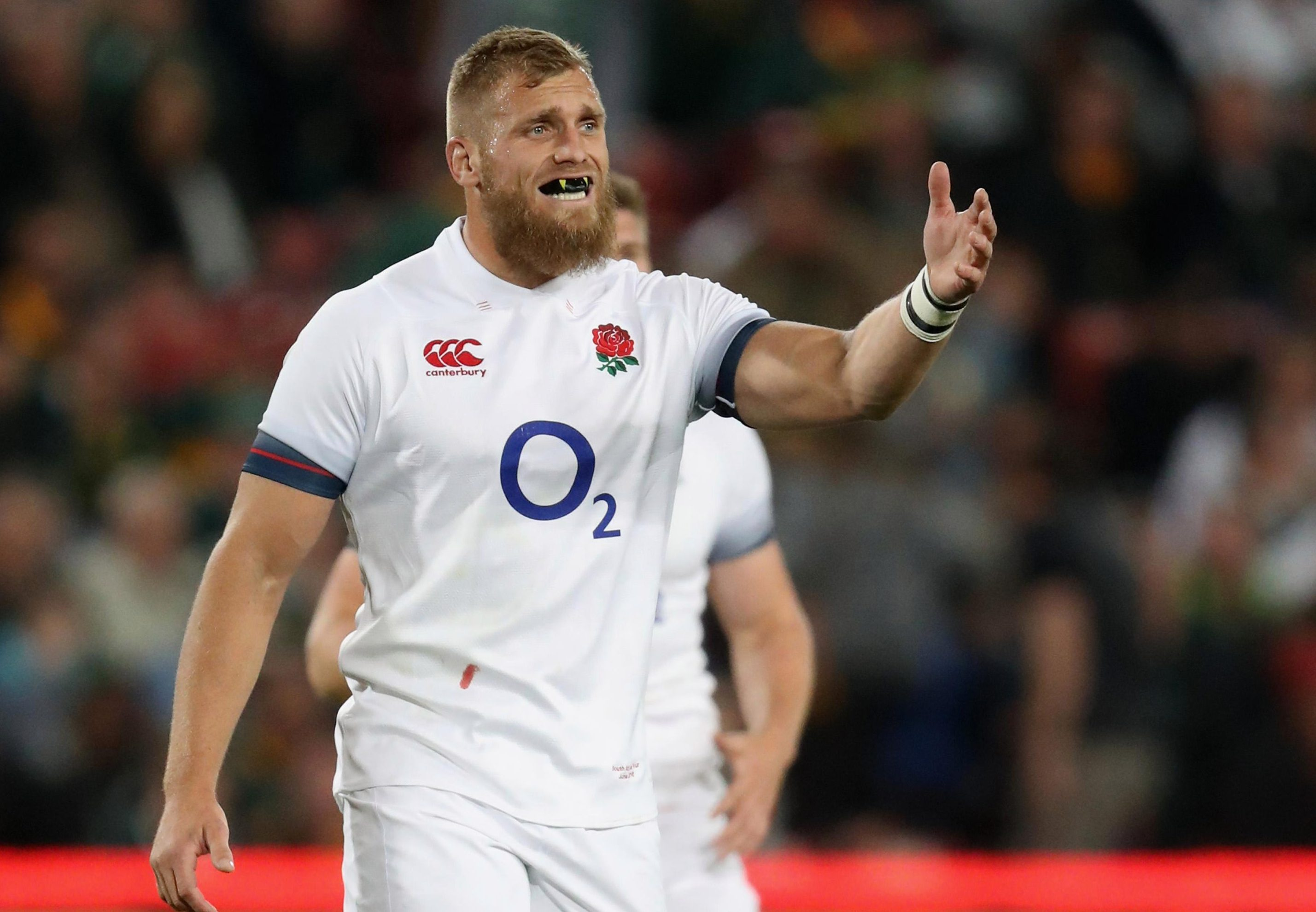 Brad Shields impressed on his debut under Eddie Jones against South Africa