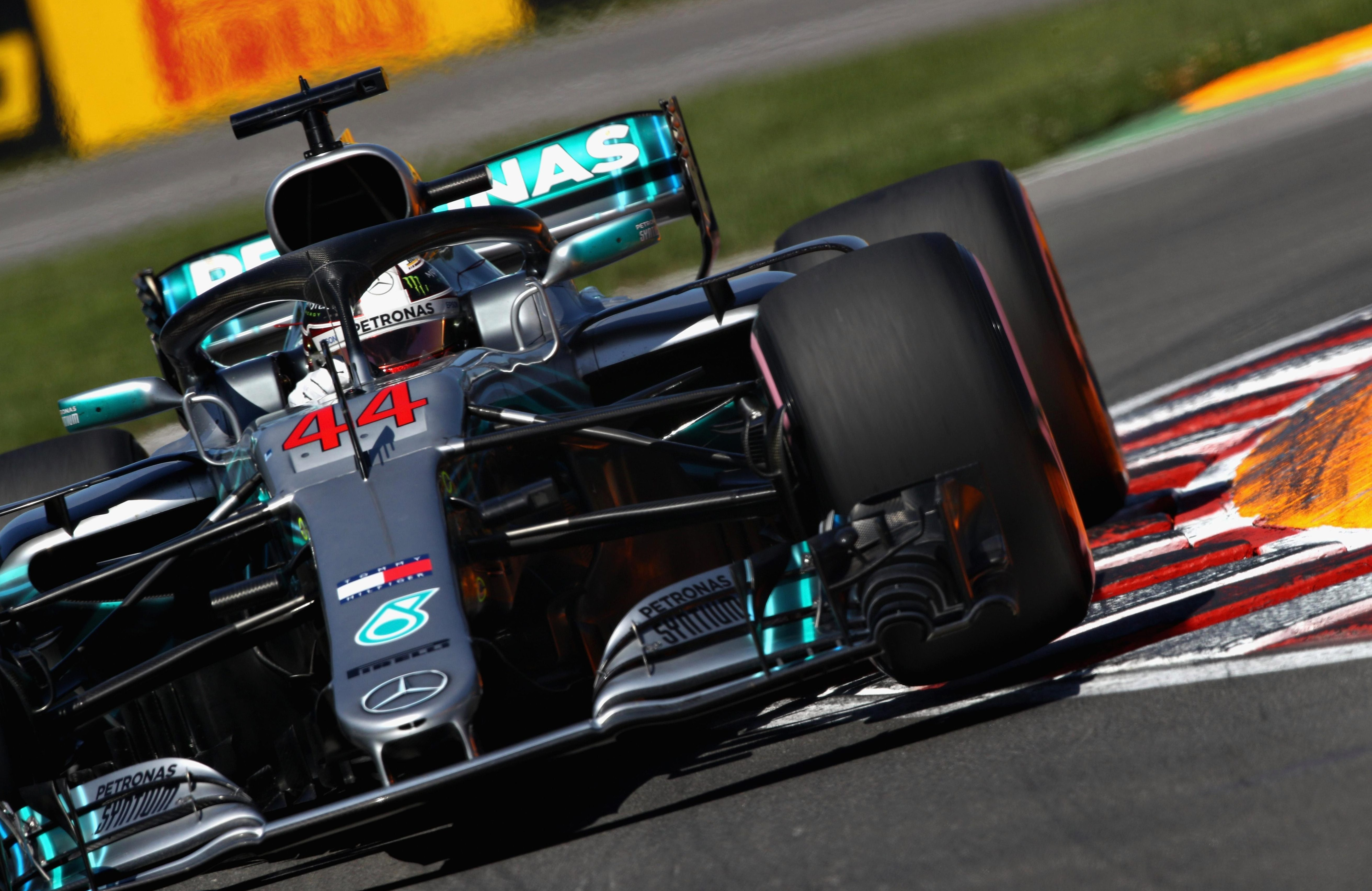 The Mercedes ace came fourth in qualifying for the Grand Prix