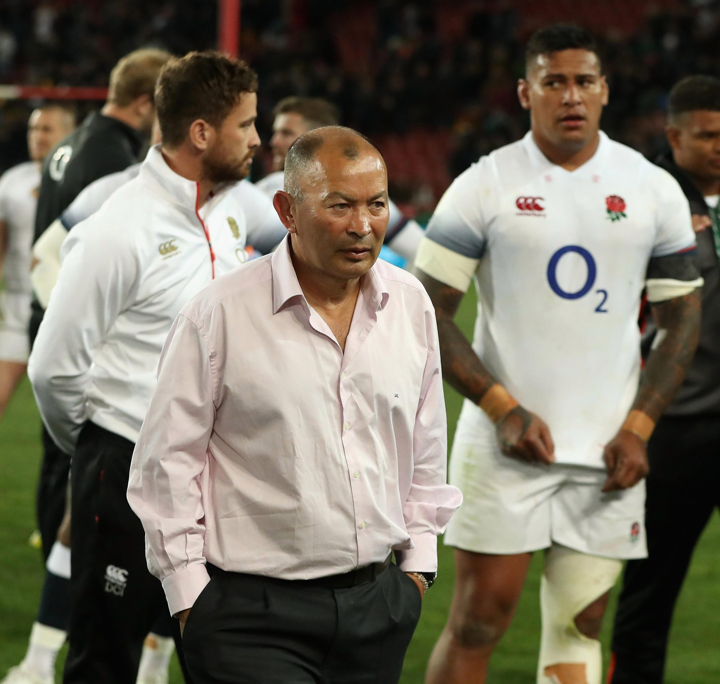 England rugby bosses won't speak about Jones' future