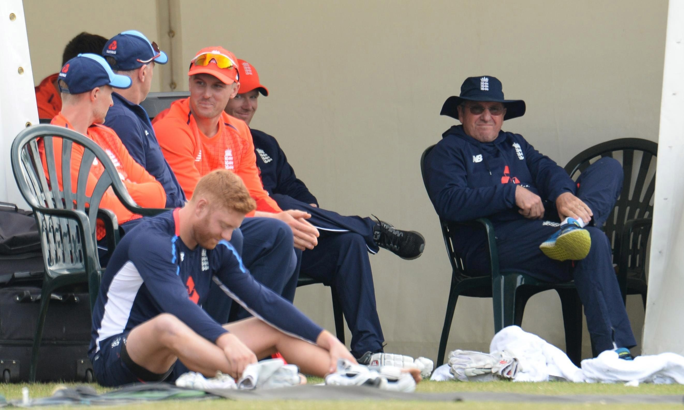 Trevor Bayliss looks on during his sides defeat in the One Day International