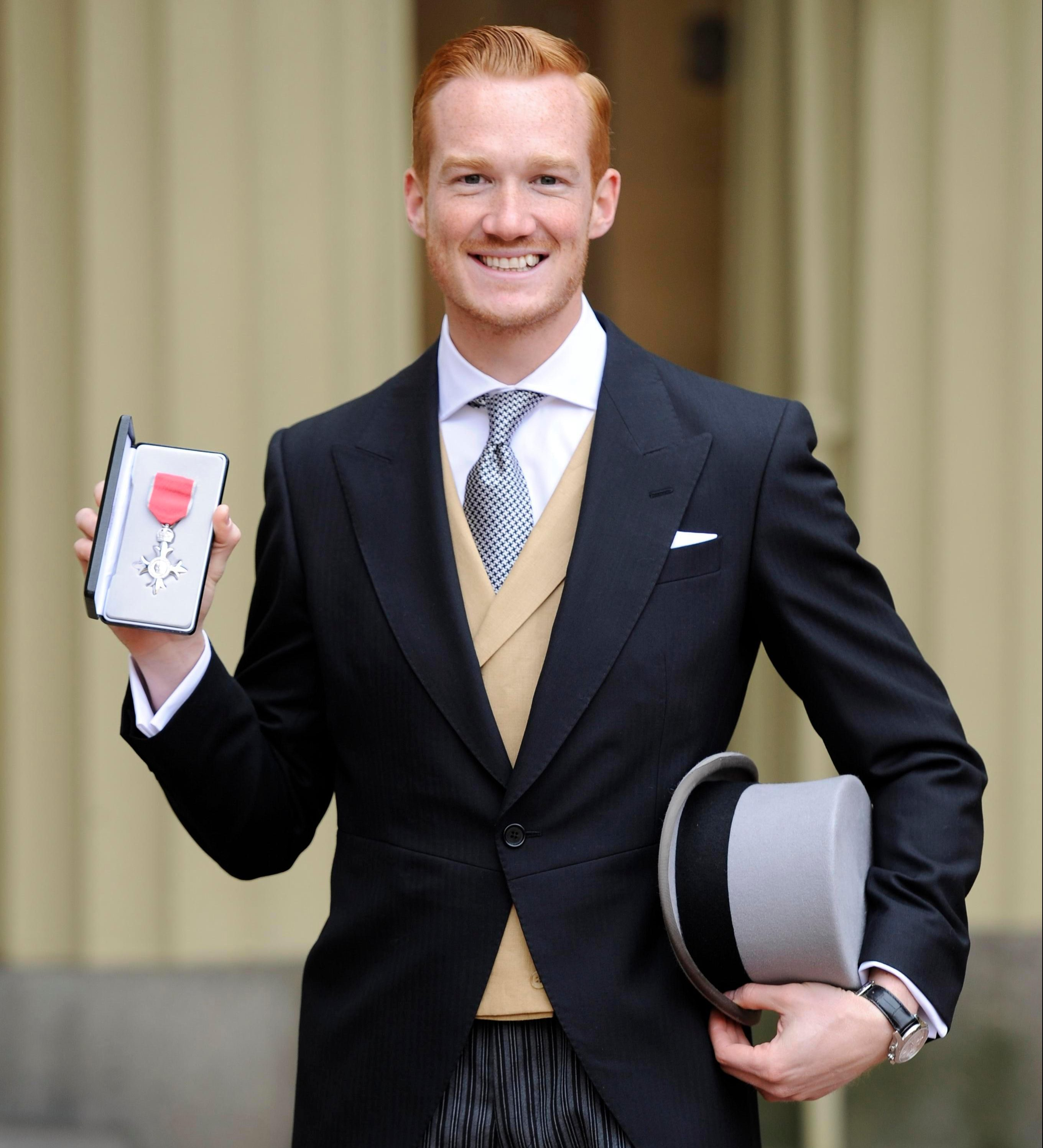 Greg Rutherford has collected a string of medals and gongs