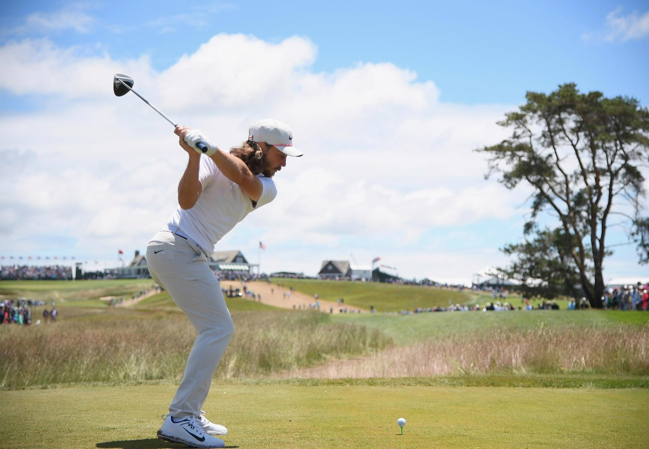 Tommy Fleetwood played a superb -4 on the day to put himself at +1 overall