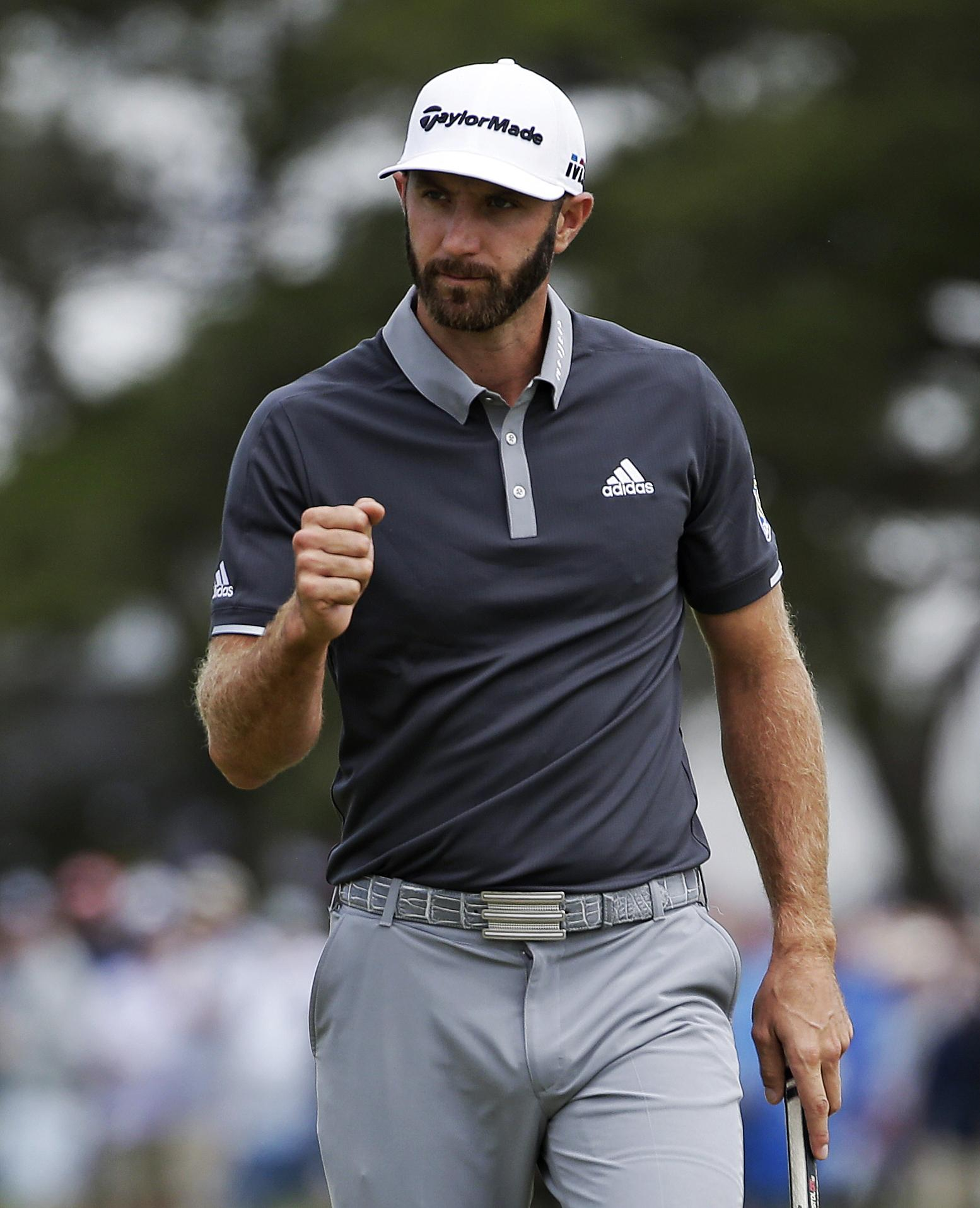 Dustin Johnson is looking a good bet to repeat his 2016 triumph in the US Open